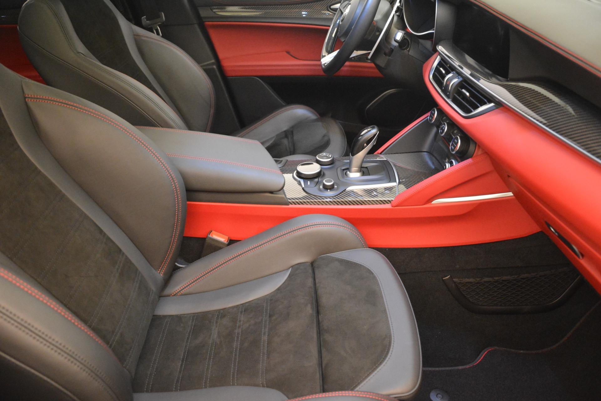 New 2018 Alfa Romeo Stelvio Quadrifoglio For Sale In Westport, CT 2460_p20