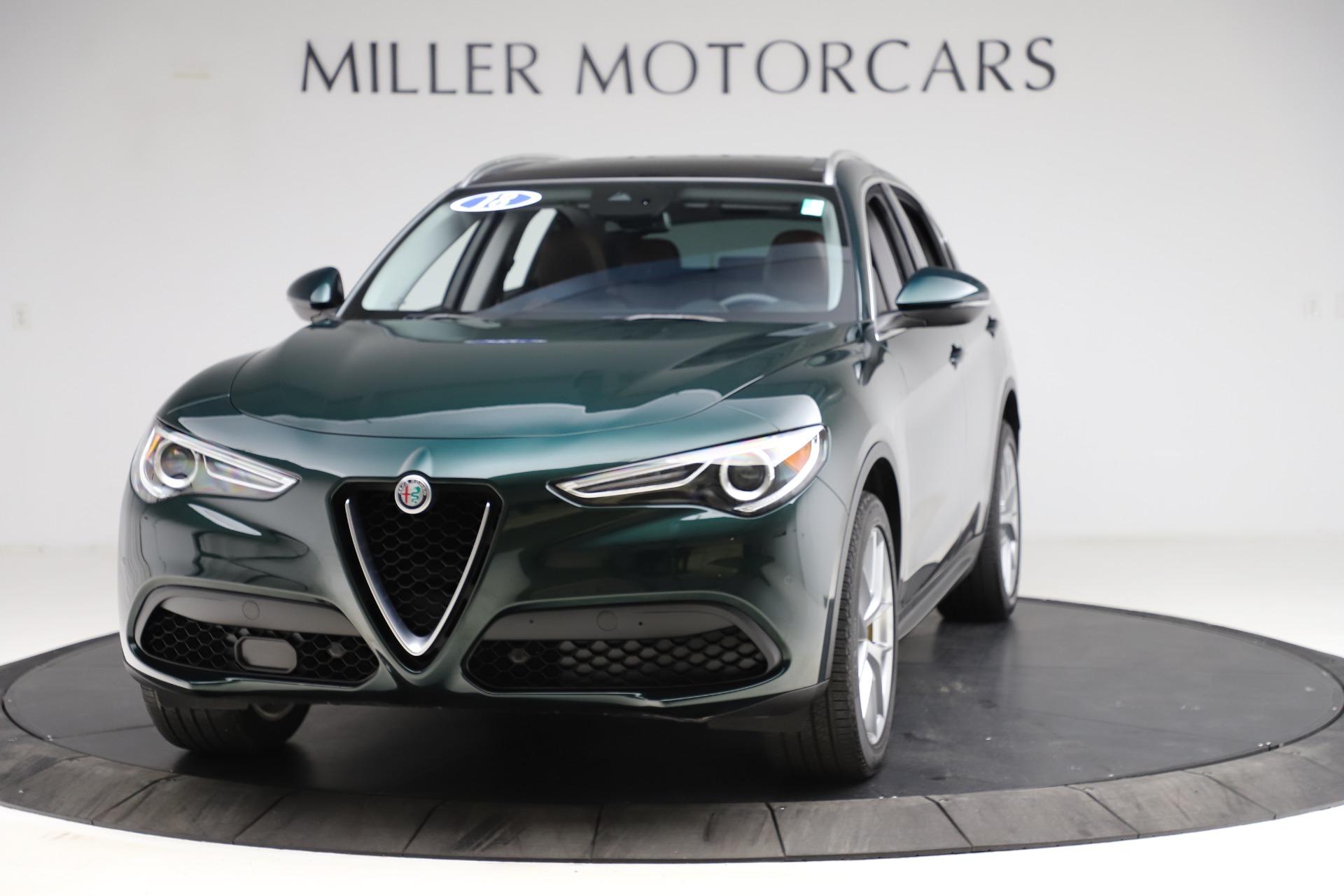 New 2018 Alfa Romeo Stelvio Ti Q4 For Sale In Westport, CT 2479_main