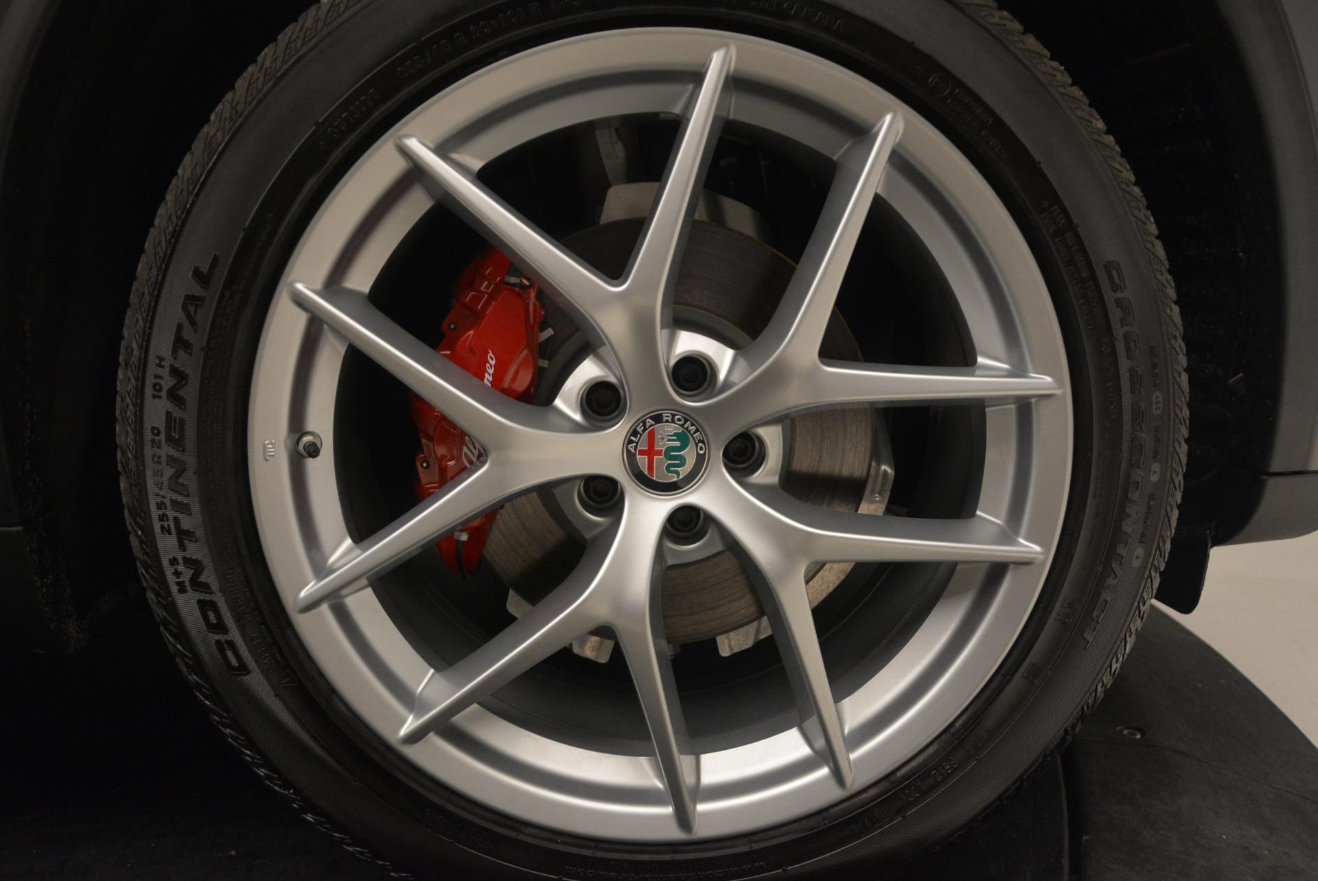 New 2018 Alfa Romeo Stelvio Ti Q4 For Sale In Westport, CT 2480_p25