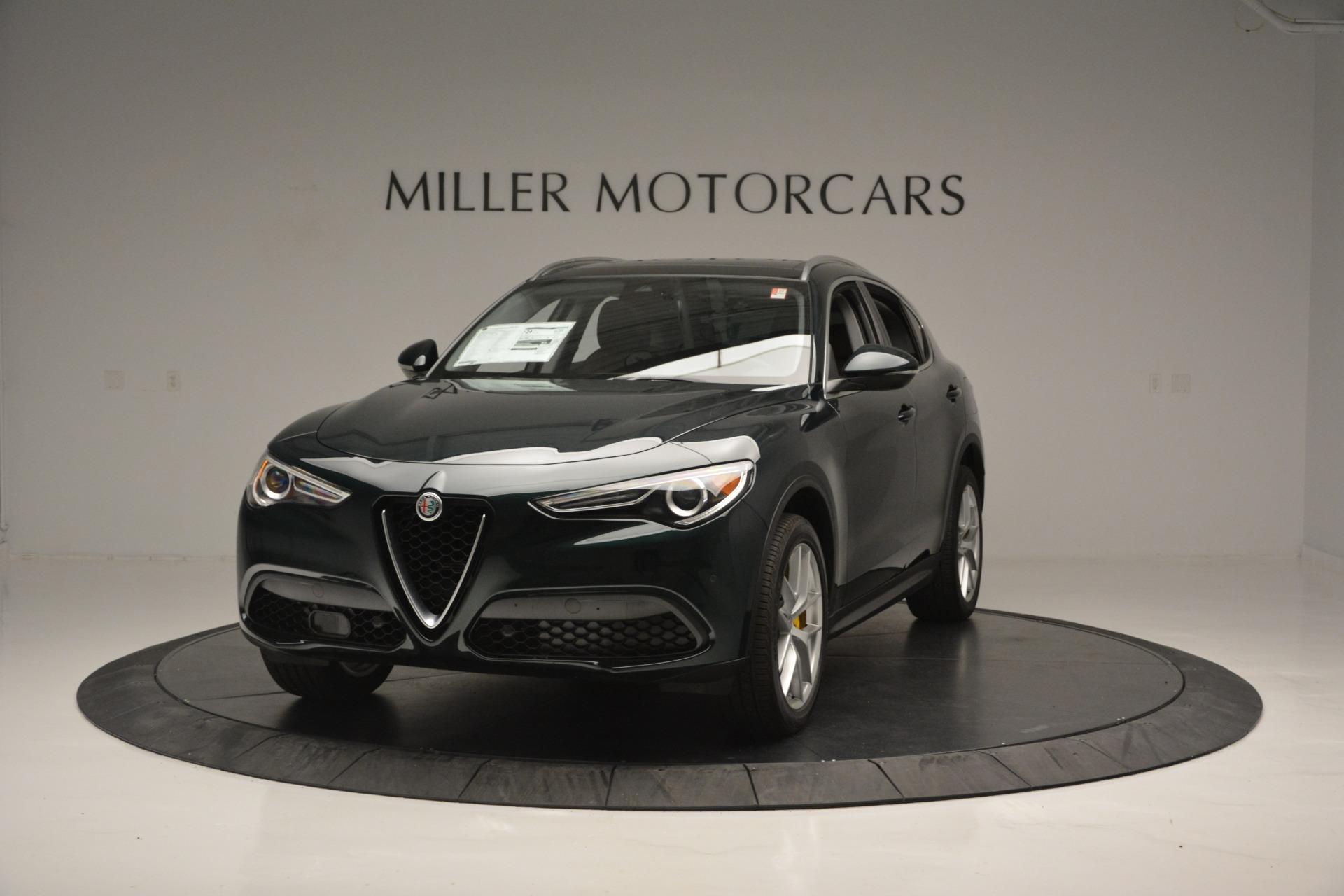 New 2018 Alfa Romeo Stelvio Ti Lusso Q4 For Sale In Westport, CT 2482_main