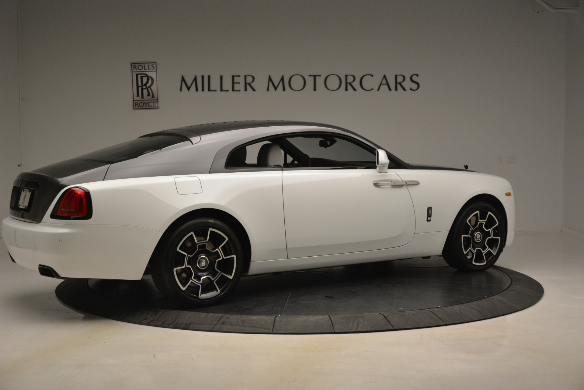Used 2018 Rolls-Royce Wraith Black Badge Nebula Collection For Sale In Westport, CT 2491_p8