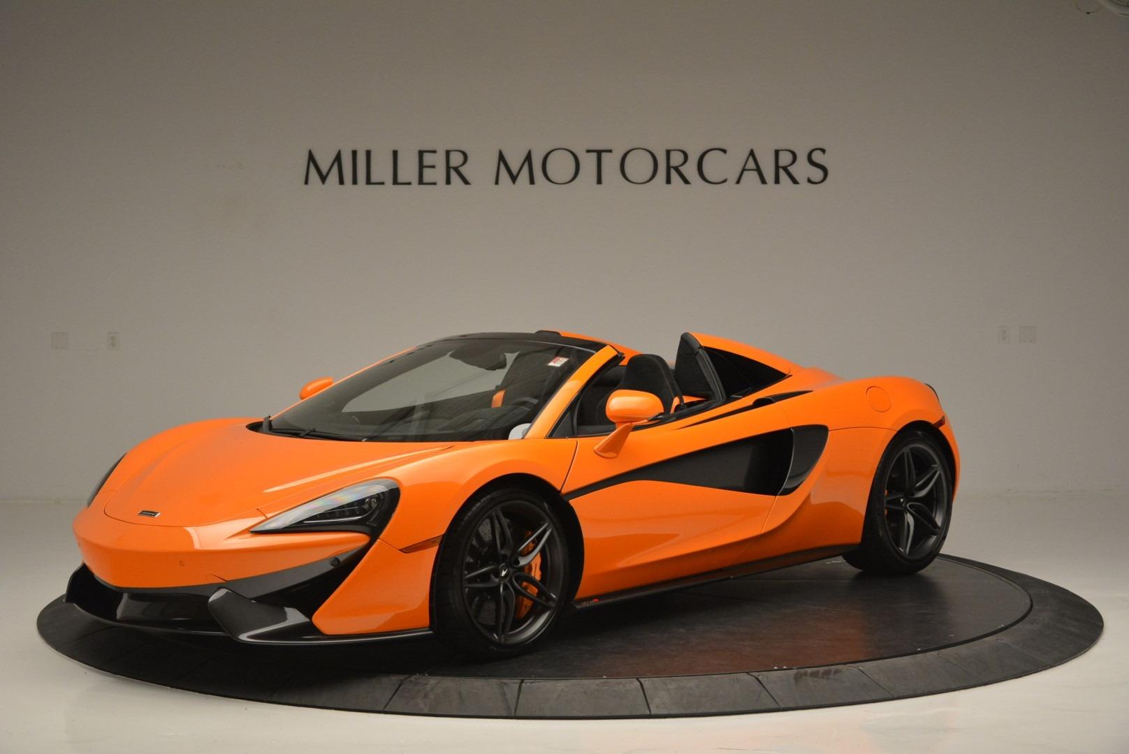 New 2019 McLaren 570S Spider Convertible For Sale In Westport, CT 2520_main