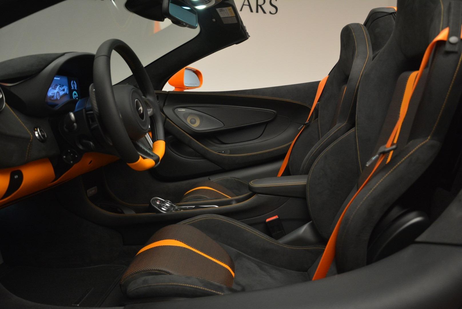 New 2019 McLaren 570S Spider Convertible For Sale In Westport, CT 2520_p25