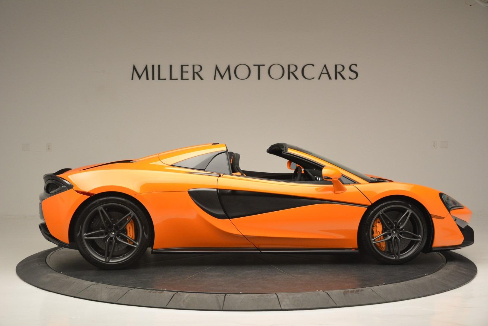New 2019 McLaren 570S Spider Convertible For Sale In Westport, CT 2520_p9