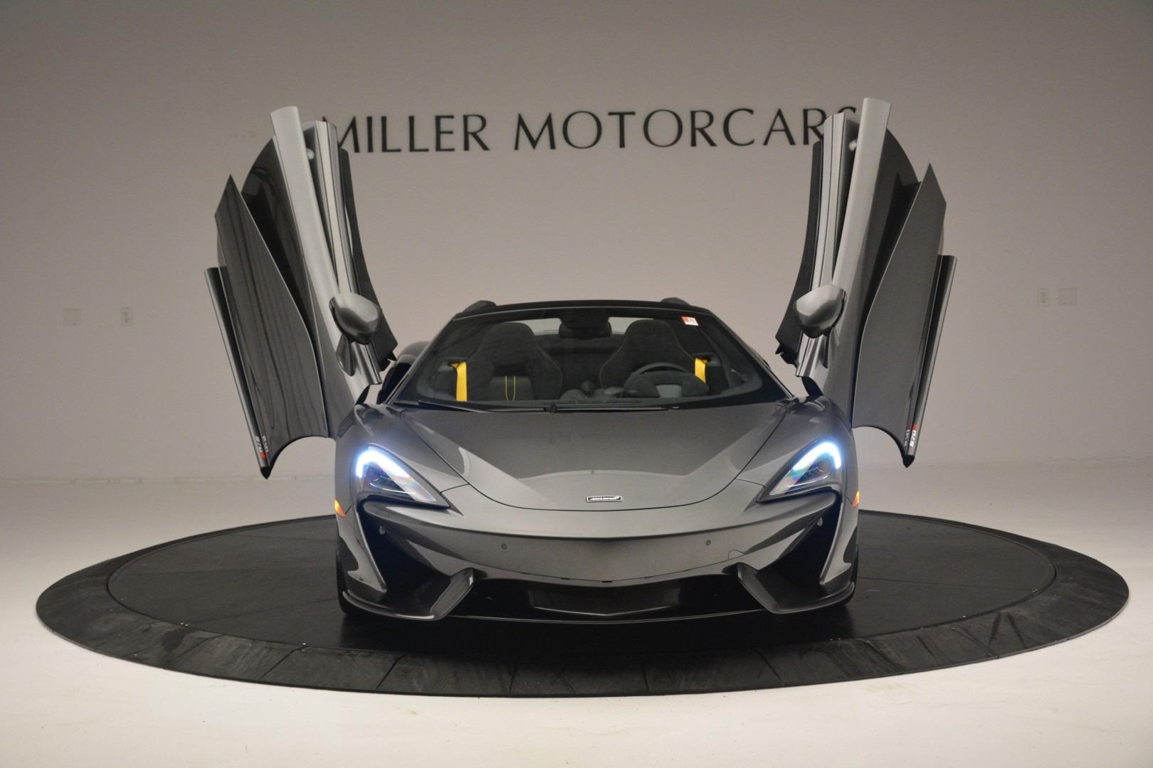 New 2019 McLaren 570S Spider Convertible For Sale In Westport, CT 2526_p13