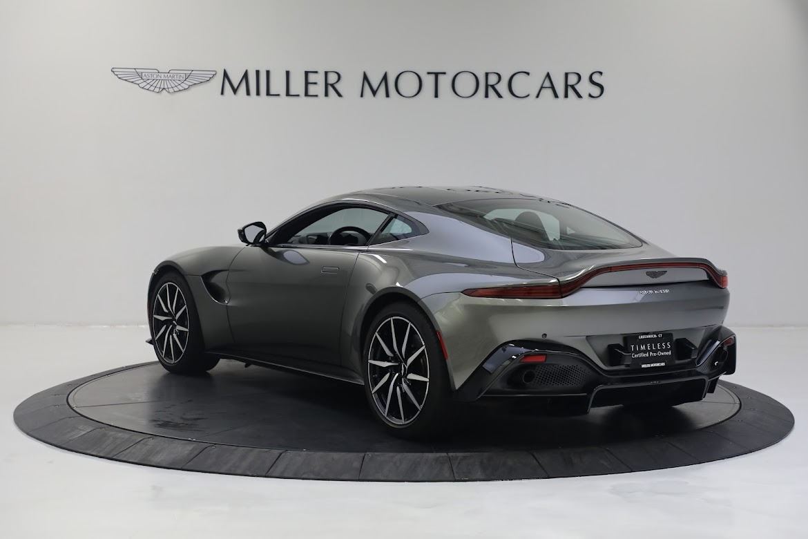 New 2019 Aston Martin Vantage Coupe For Sale In Westport, CT 2527_p4