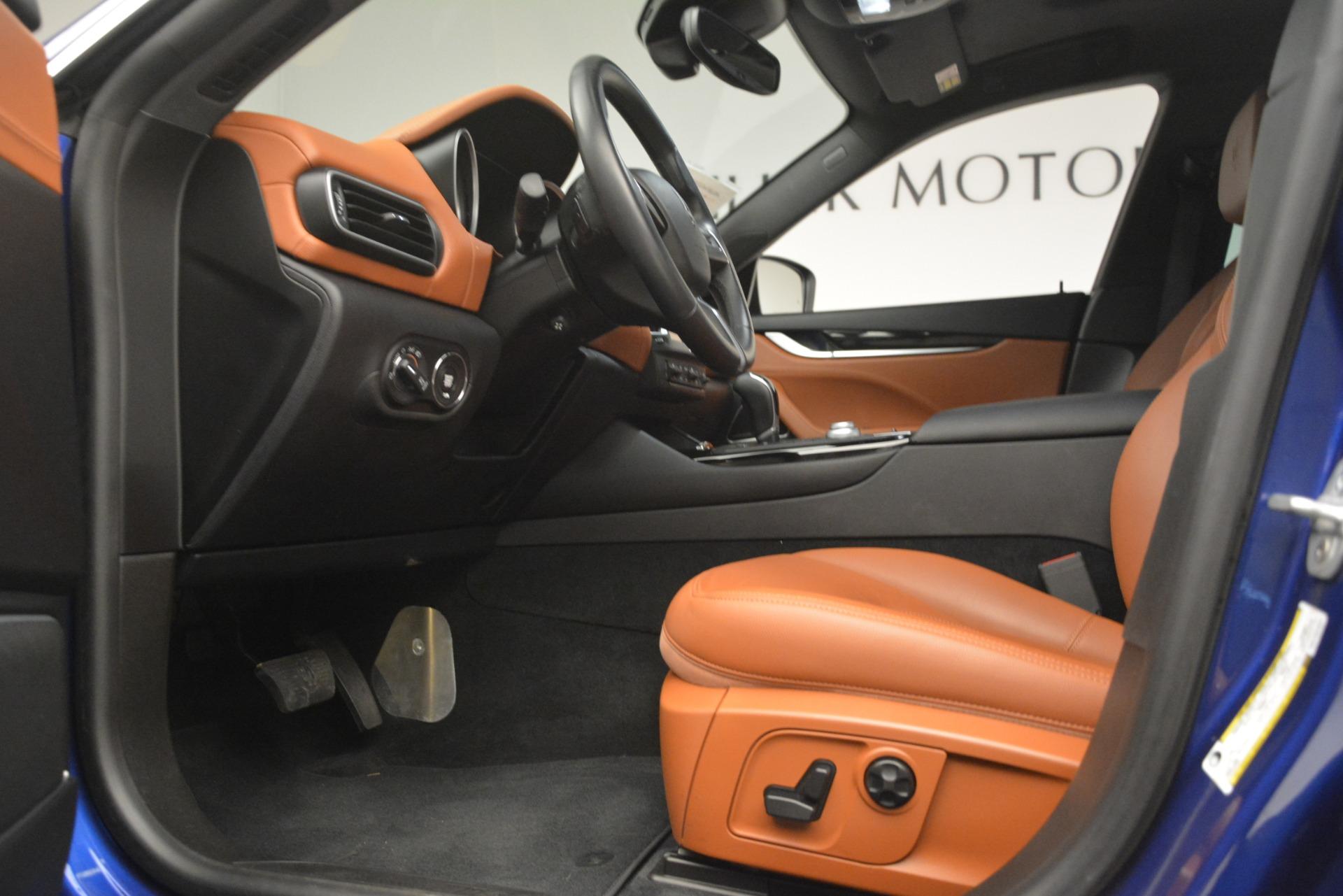 Used 2018 Maserati Levante Q4 For Sale In Westport, CT 2575_p14