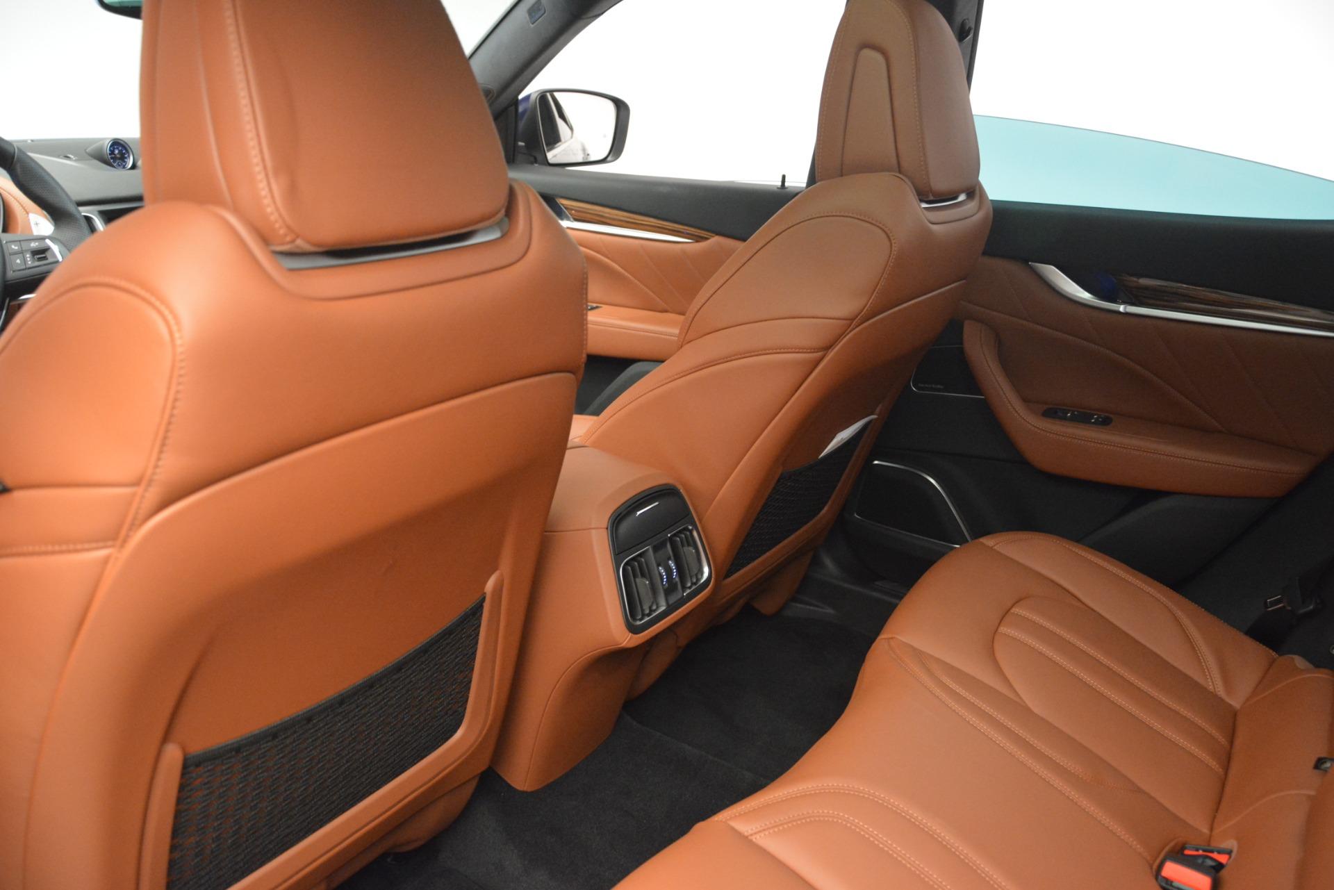 New 2019 Maserati Levante S Q4 GranSport For Sale In Westport, CT 2613_p17
