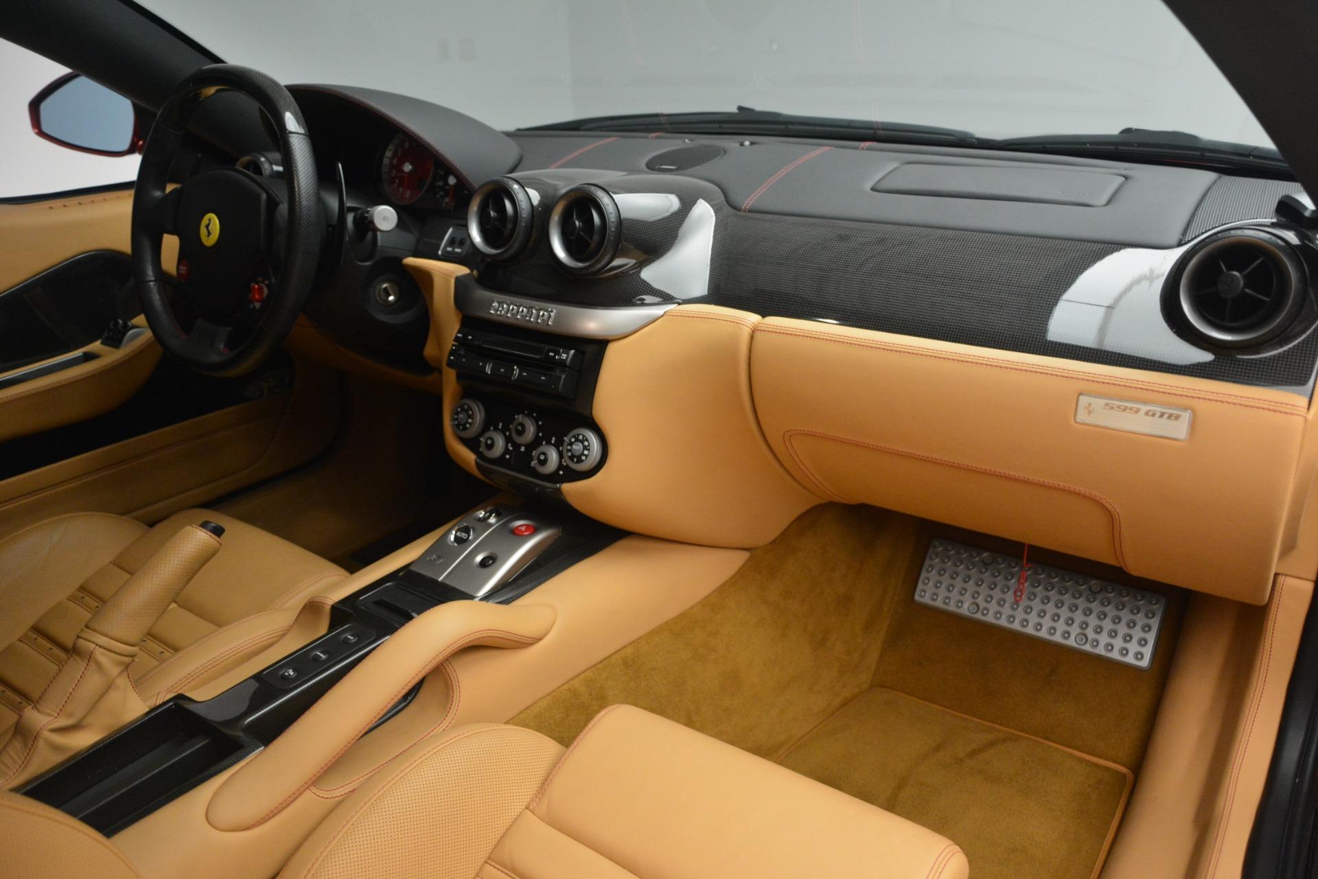 Used 2009 Ferrari 599 GTB Fiorano  For Sale In Westport, CT 2617_p17
