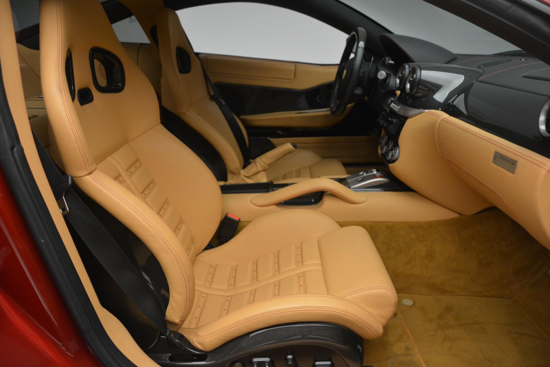 Used 2009 Ferrari 599 GTB Fiorano  For Sale In Westport, CT 2617_p18
