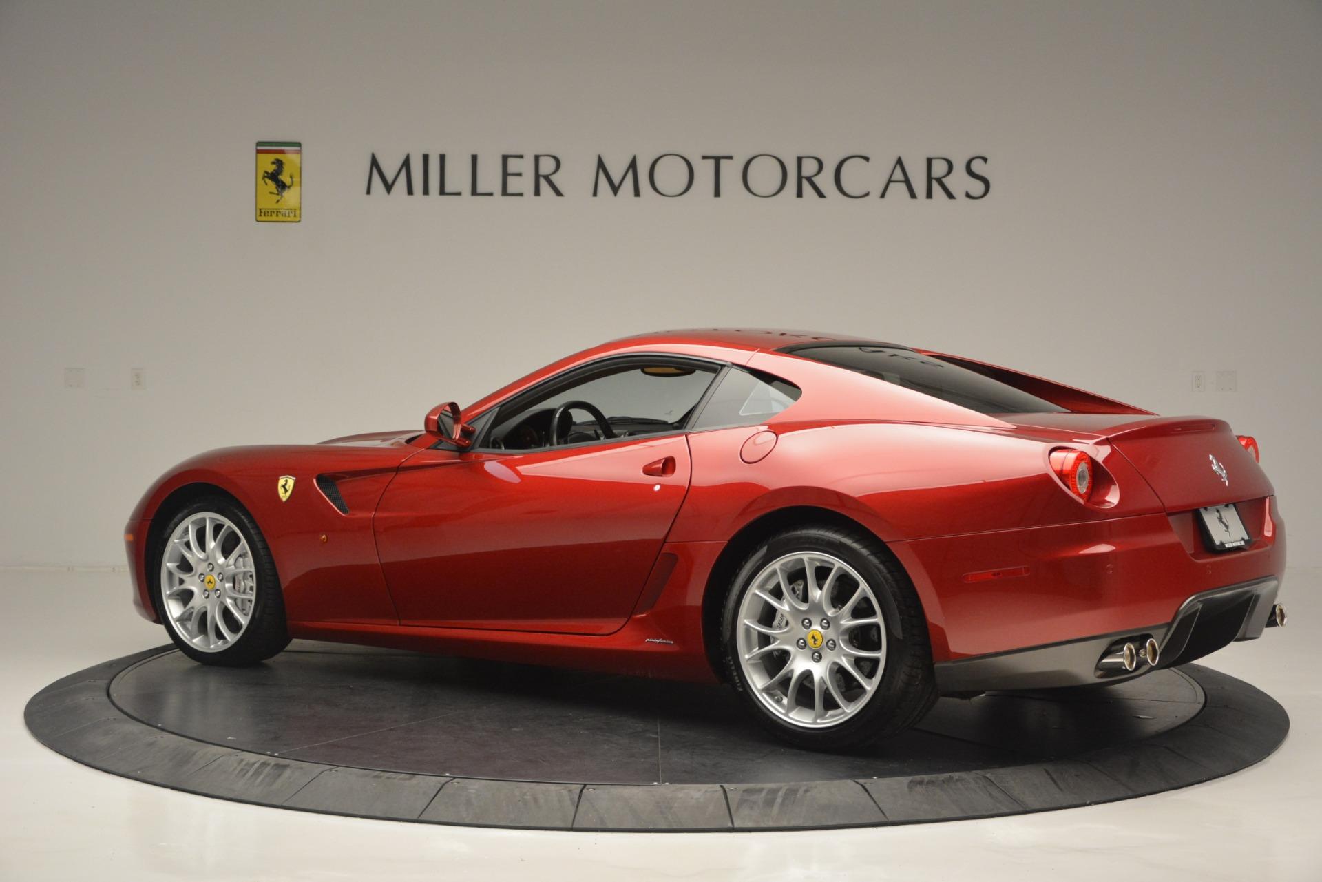 Used 2009 Ferrari 599 GTB Fiorano  For Sale In Westport, CT 2617_p4