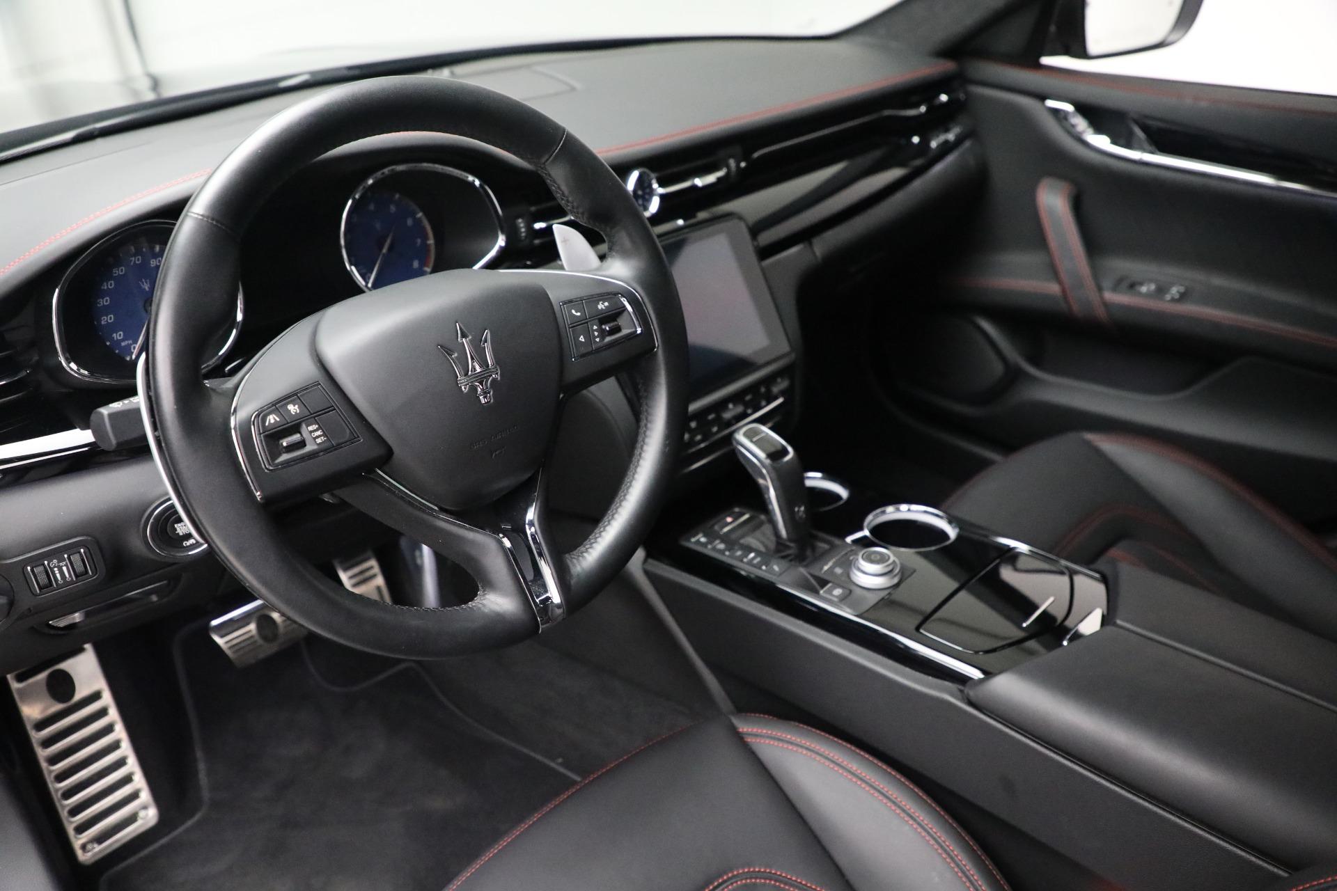 New 2019 Maserati Quattroporte S Q4 GranLusso For Sale In Westport, CT 2619_p14