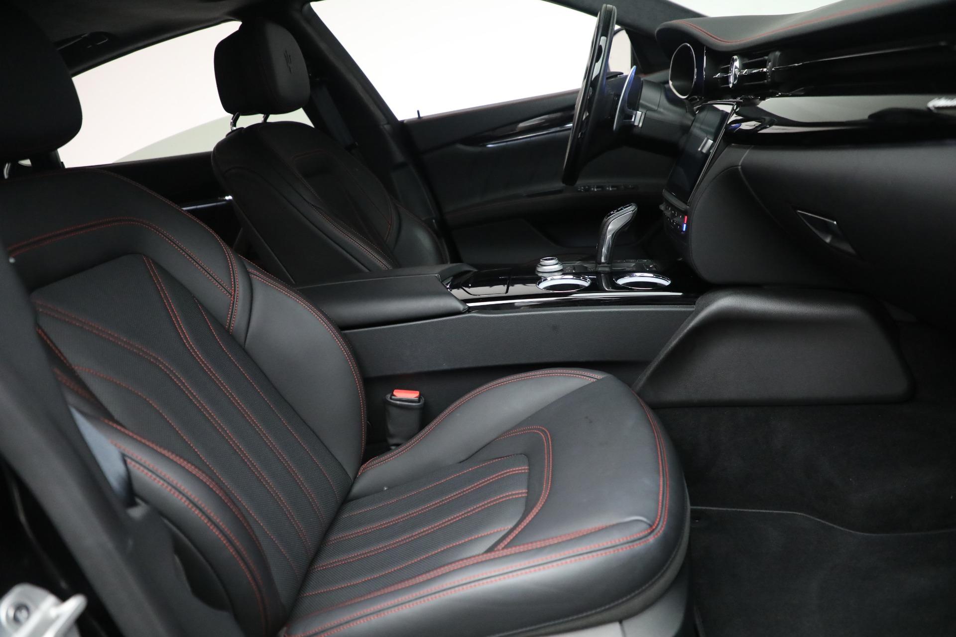 New 2019 Maserati Quattroporte S Q4 GranLusso For Sale In Westport, CT 2619_p27