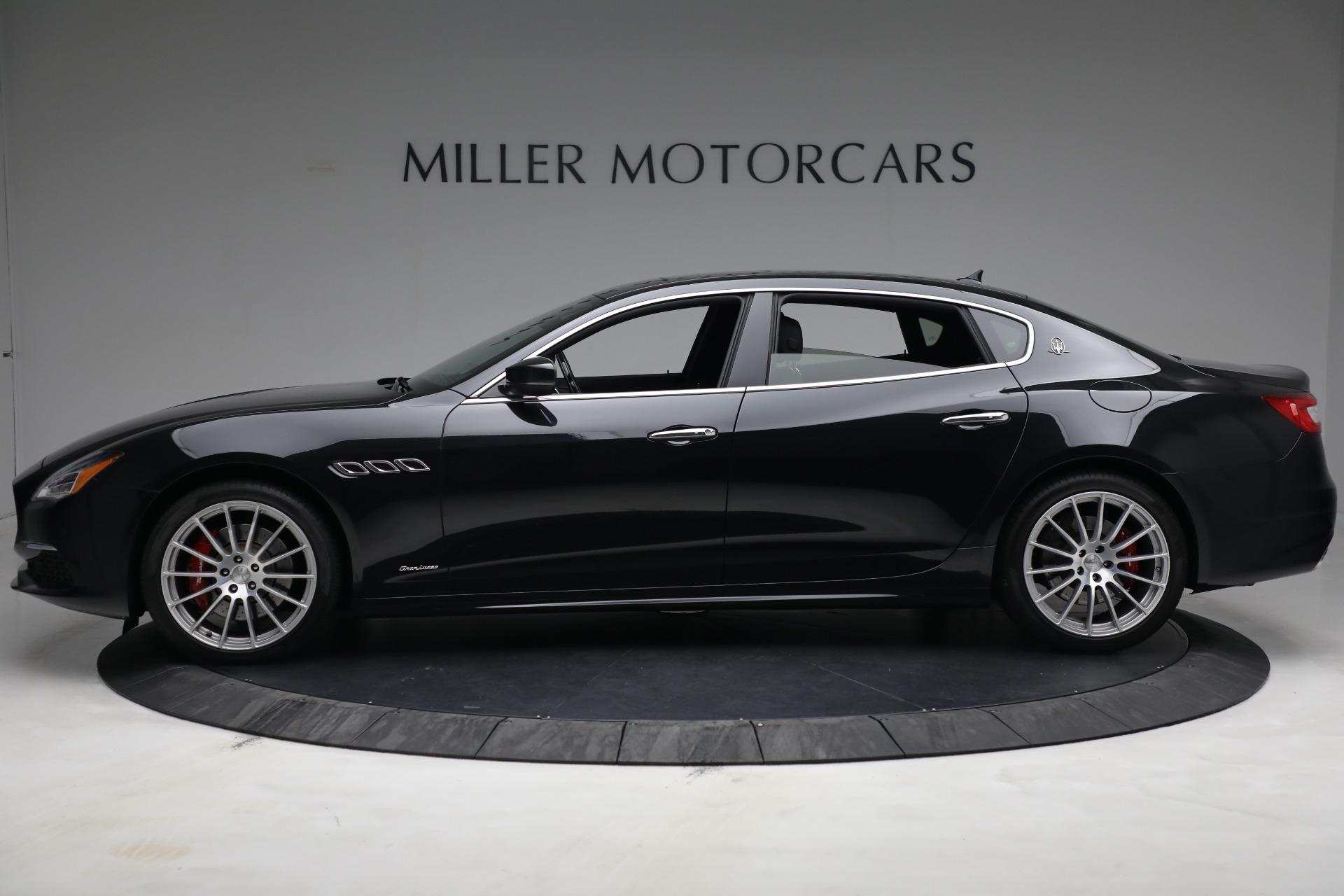 New 2019 Maserati Quattroporte S Q4 GranLusso For Sale In Westport, CT 2619_p3