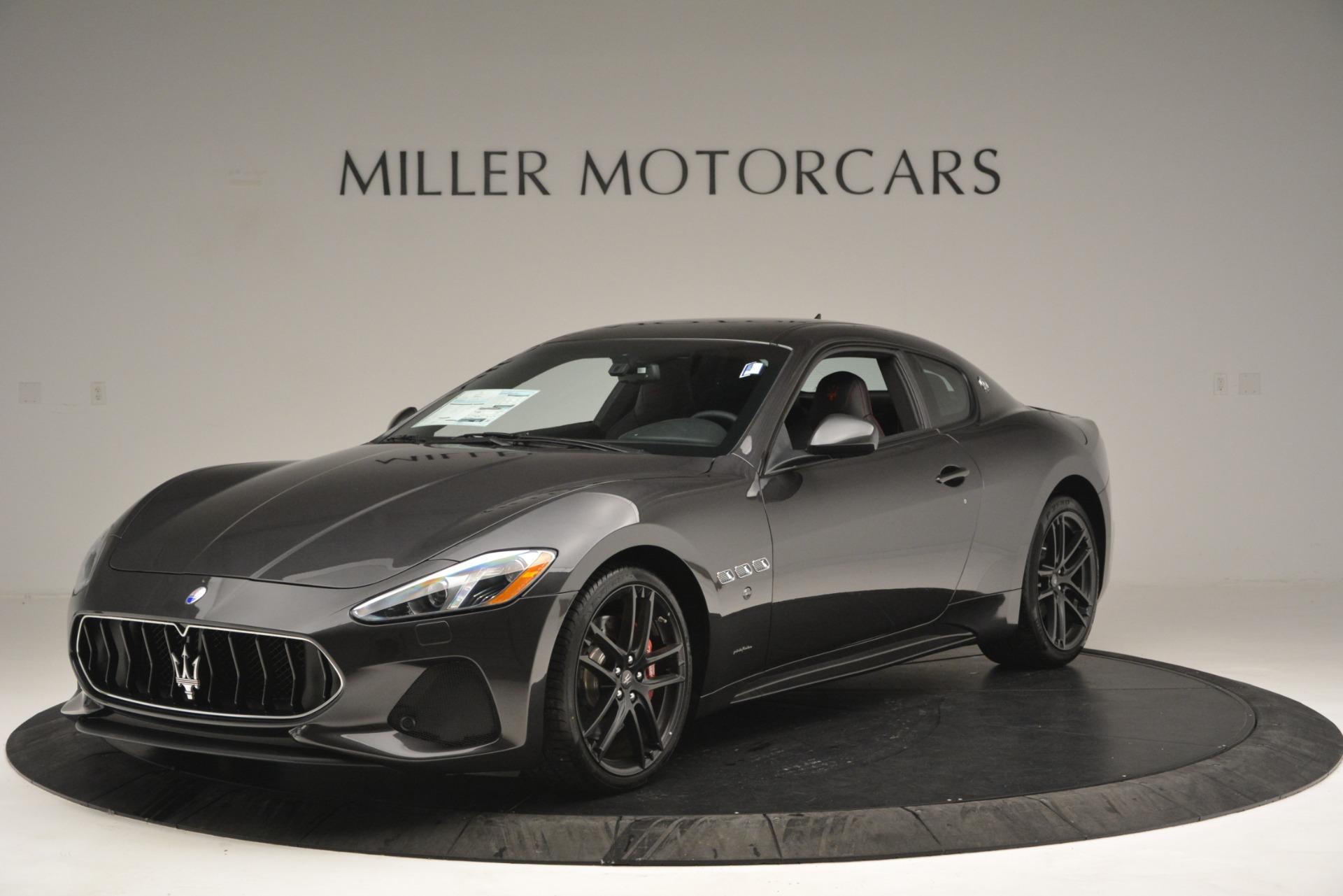 New 2018 Maserati GranTurismo Sport For Sale In Westport, CT 2621_main