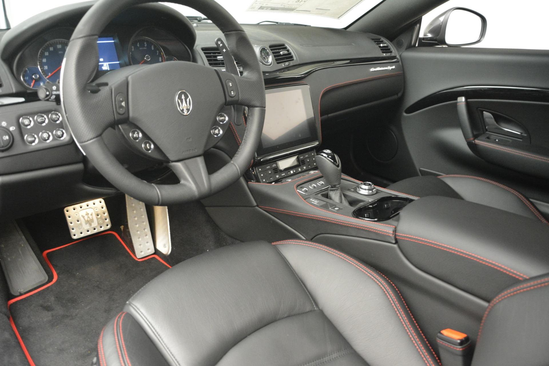 New 2018 Maserati GranTurismo Sport For Sale In Westport, CT 2621_p13
