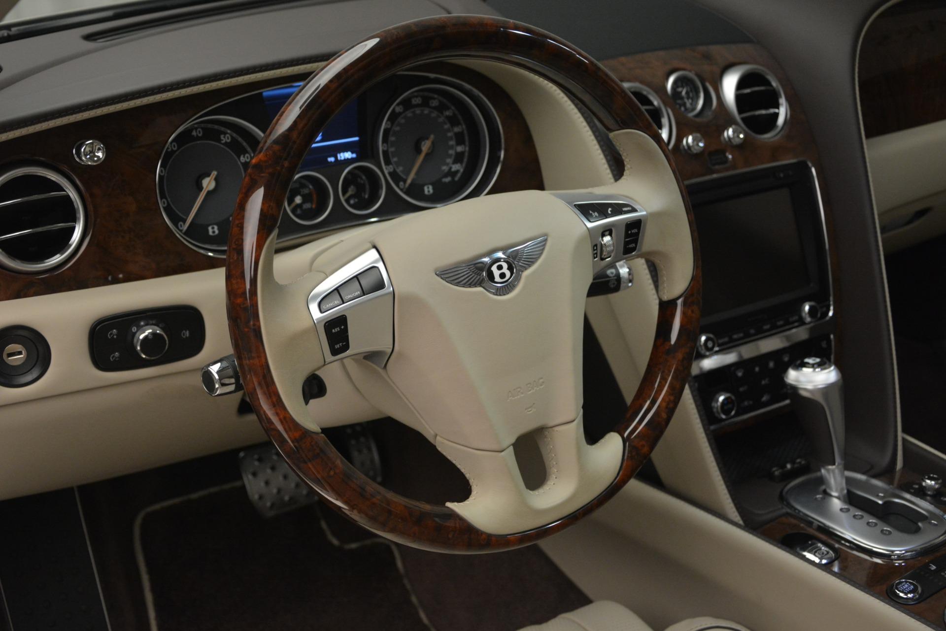 Used 2014 Bentley Flying Spur W12 For Sale In Westport, CT 2624_p21