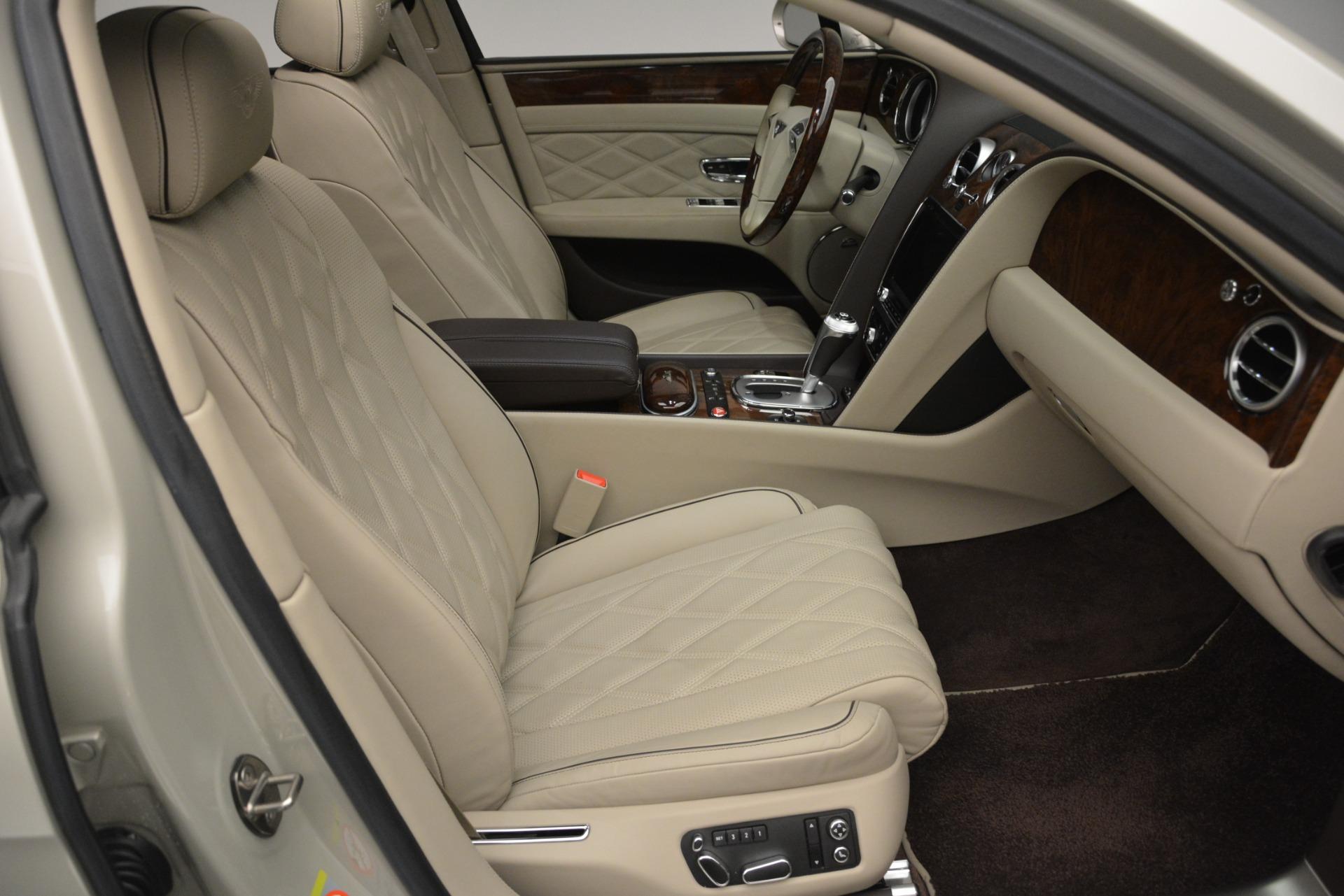 Used 2014 Bentley Flying Spur W12 For Sale In Westport, CT 2624_p27