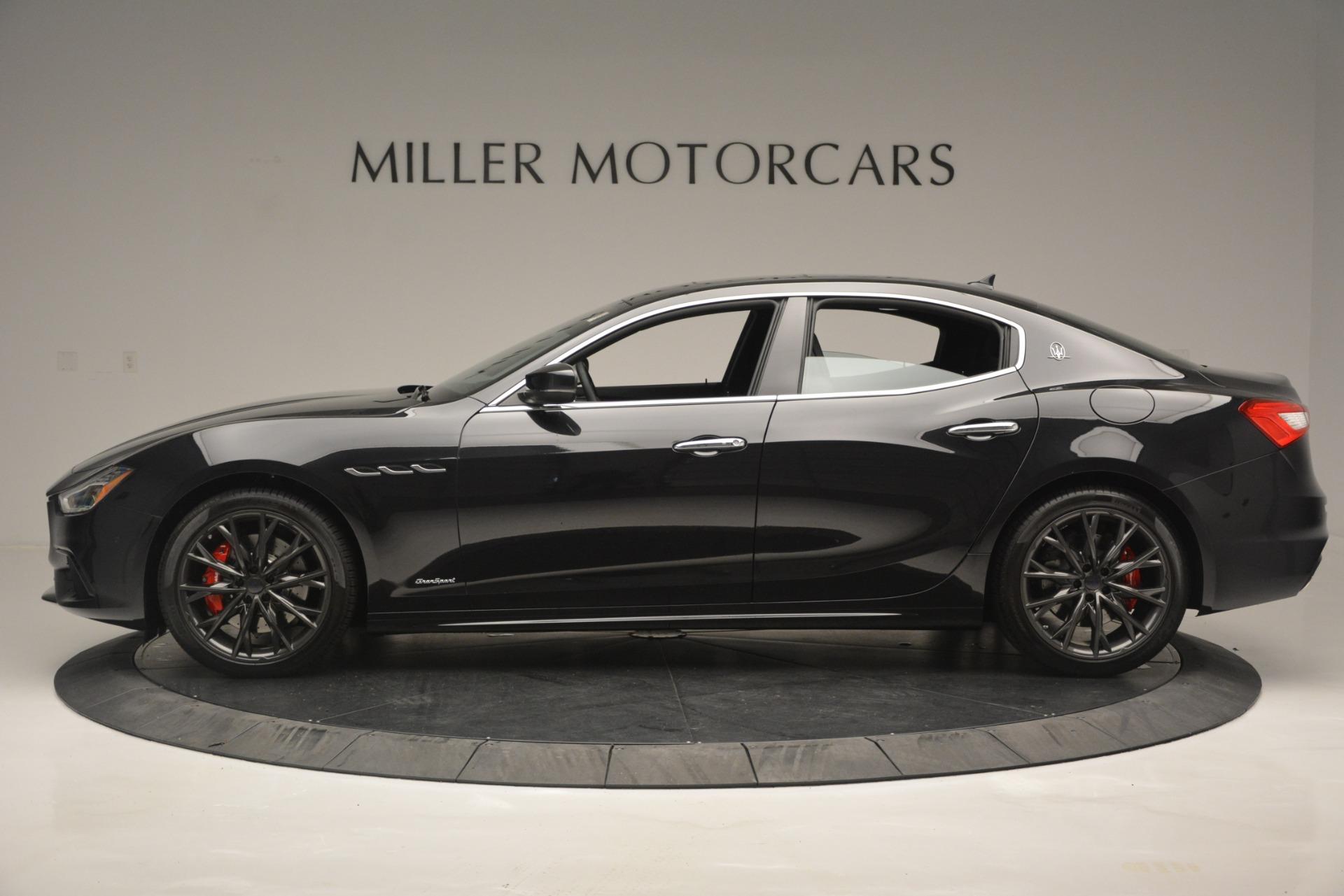 New 2019 Maserati Ghibli S Q4 GranSport For Sale In Westport, CT 2635_p3