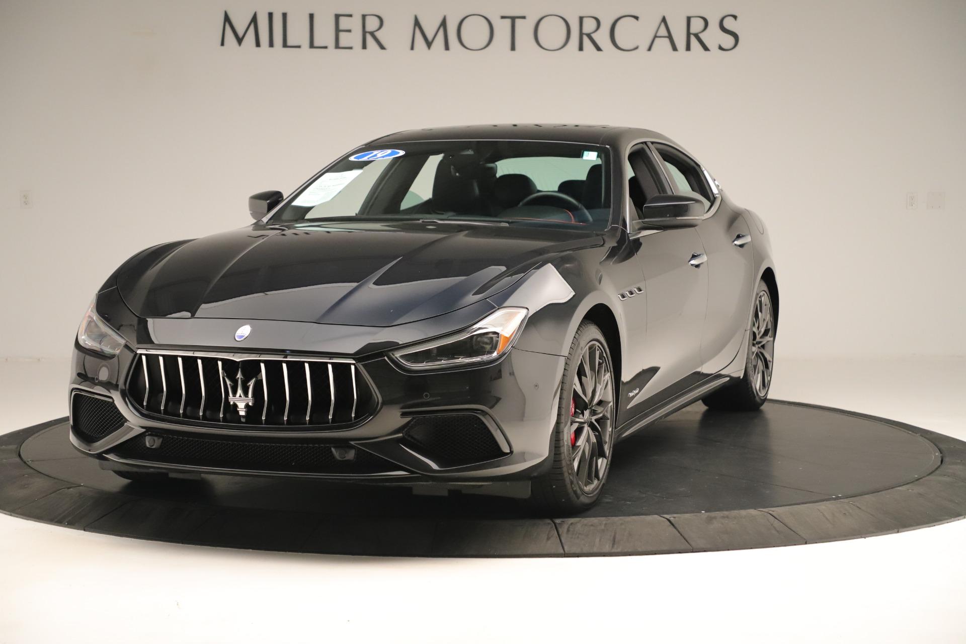 New 2019 Maserati Ghibli S Q4 GranSport For Sale In Westport, CT 2640_main