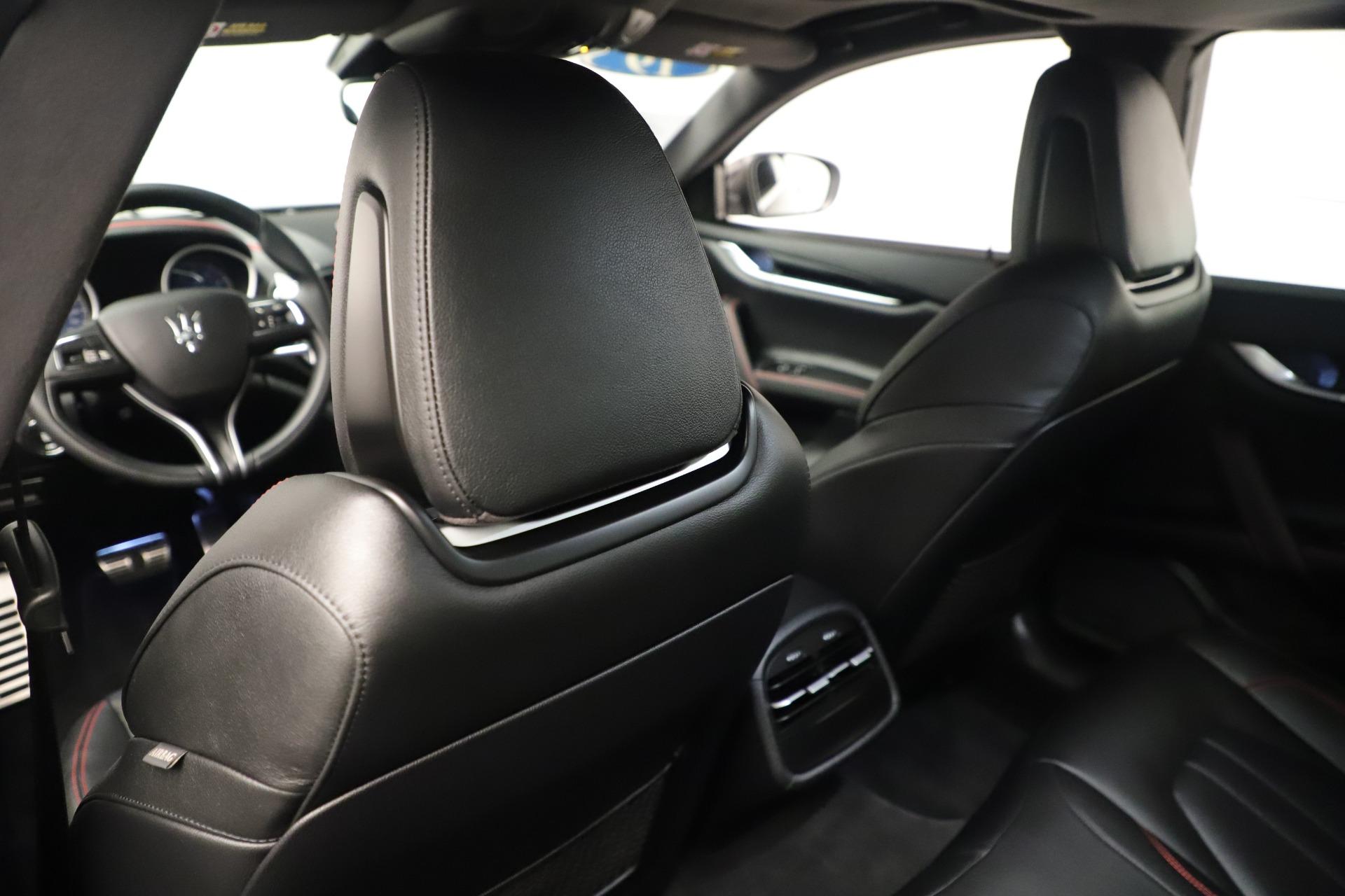 New 2019 Maserati Ghibli S Q4 GranSport For Sale In Westport, CT 2640_p20