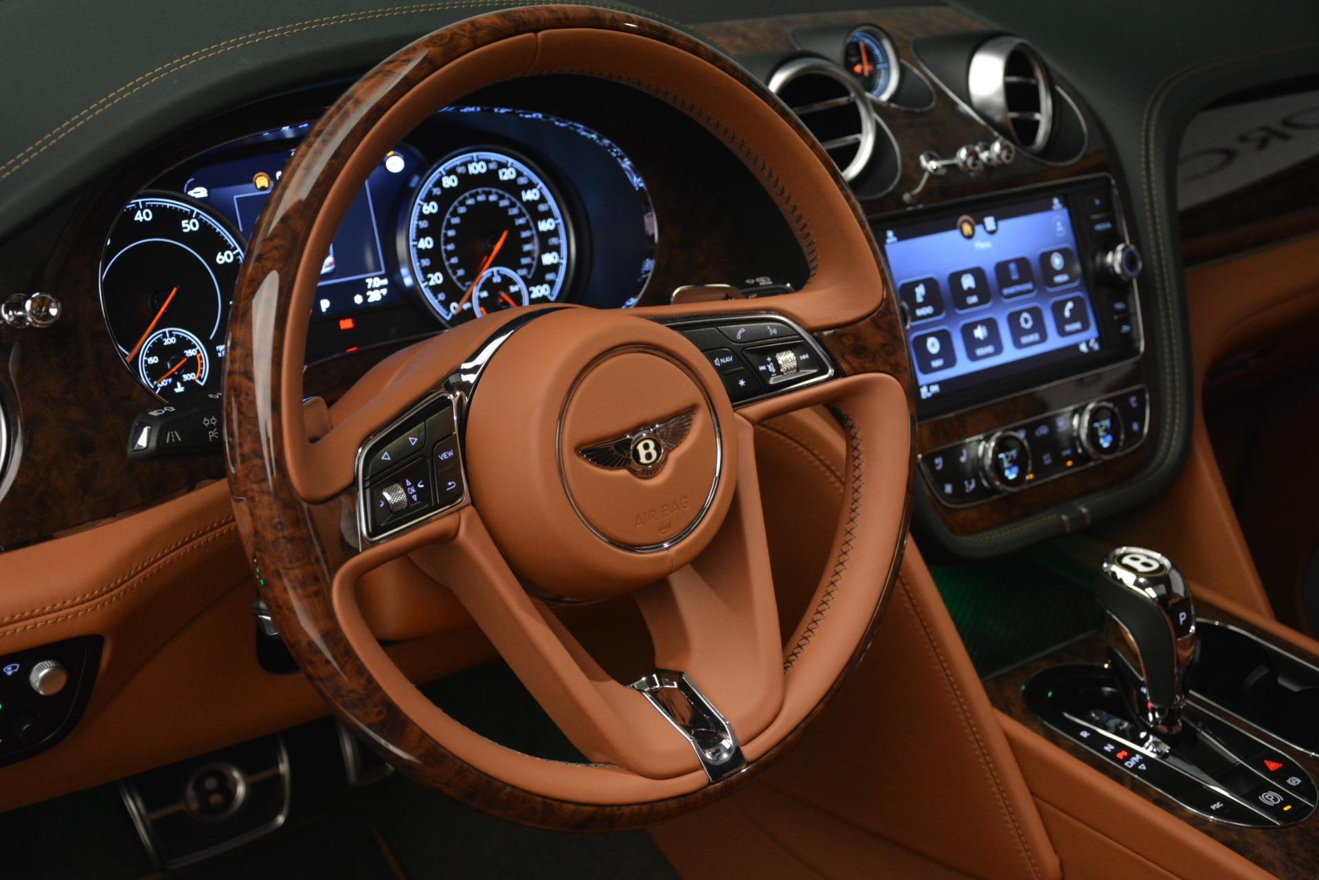 New 2019 Bentley Bentayga V8 For Sale In Westport, CT 2645_p21