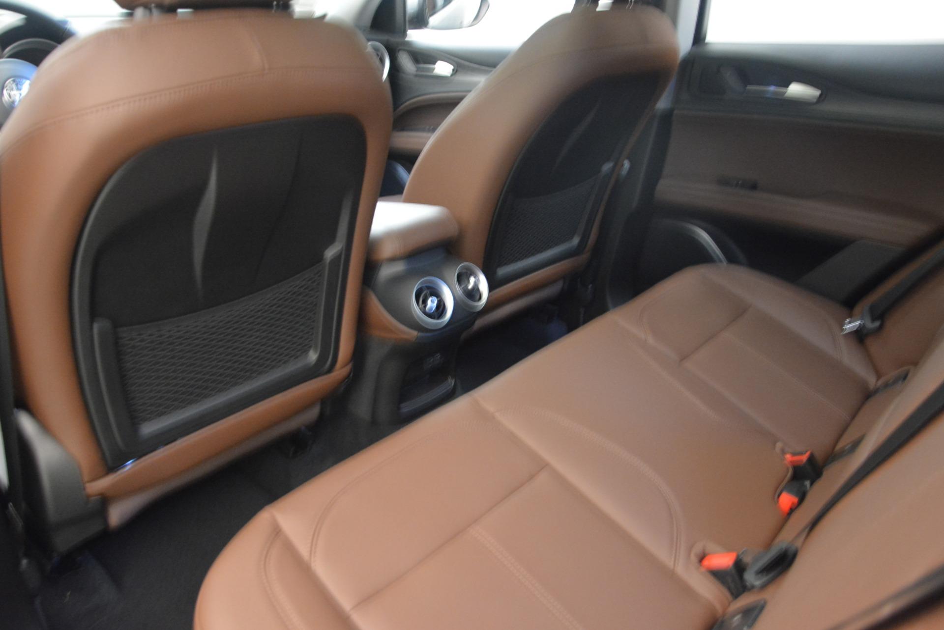 New 2019 Alfa Romeo Stelvio Sport Q4 For Sale In Westport, CT 2655_p17