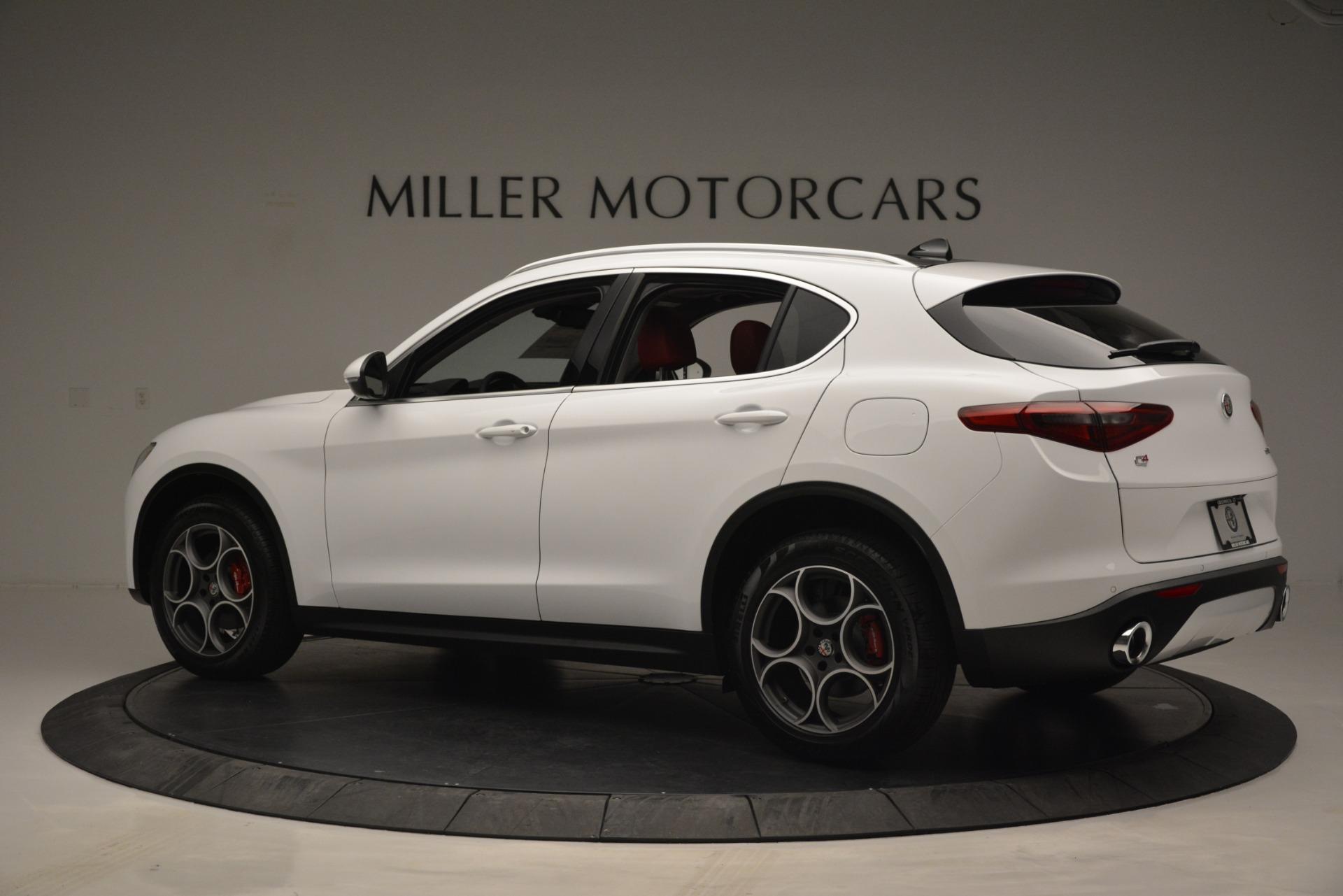 New 2019 Alfa Romeo Stelvio Q4 For Sale In Westport, CT 2657_p4