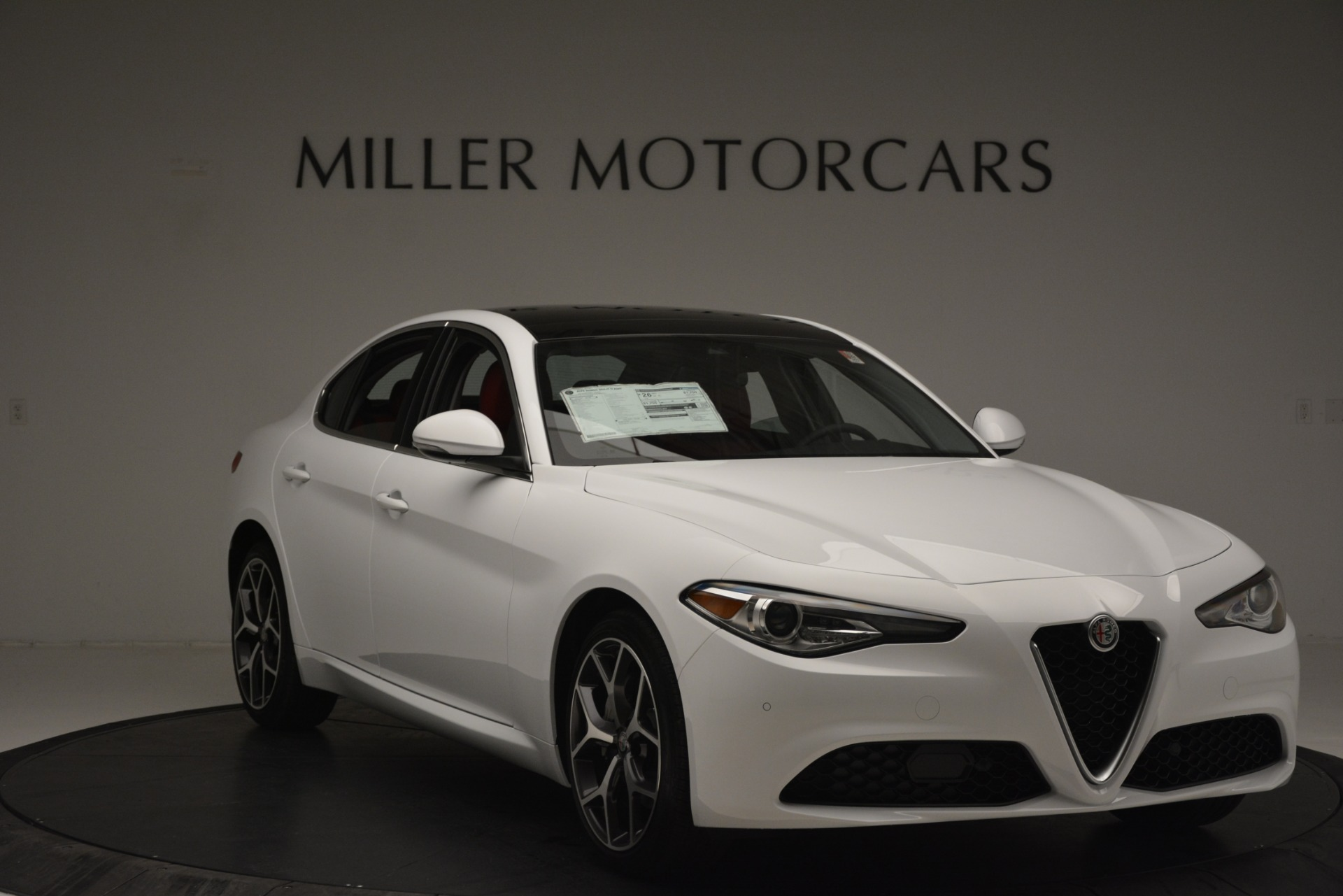 New 2019 Alfa Romeo Giulia Ti Q4 For Sale In Westport, CT 2667_p11