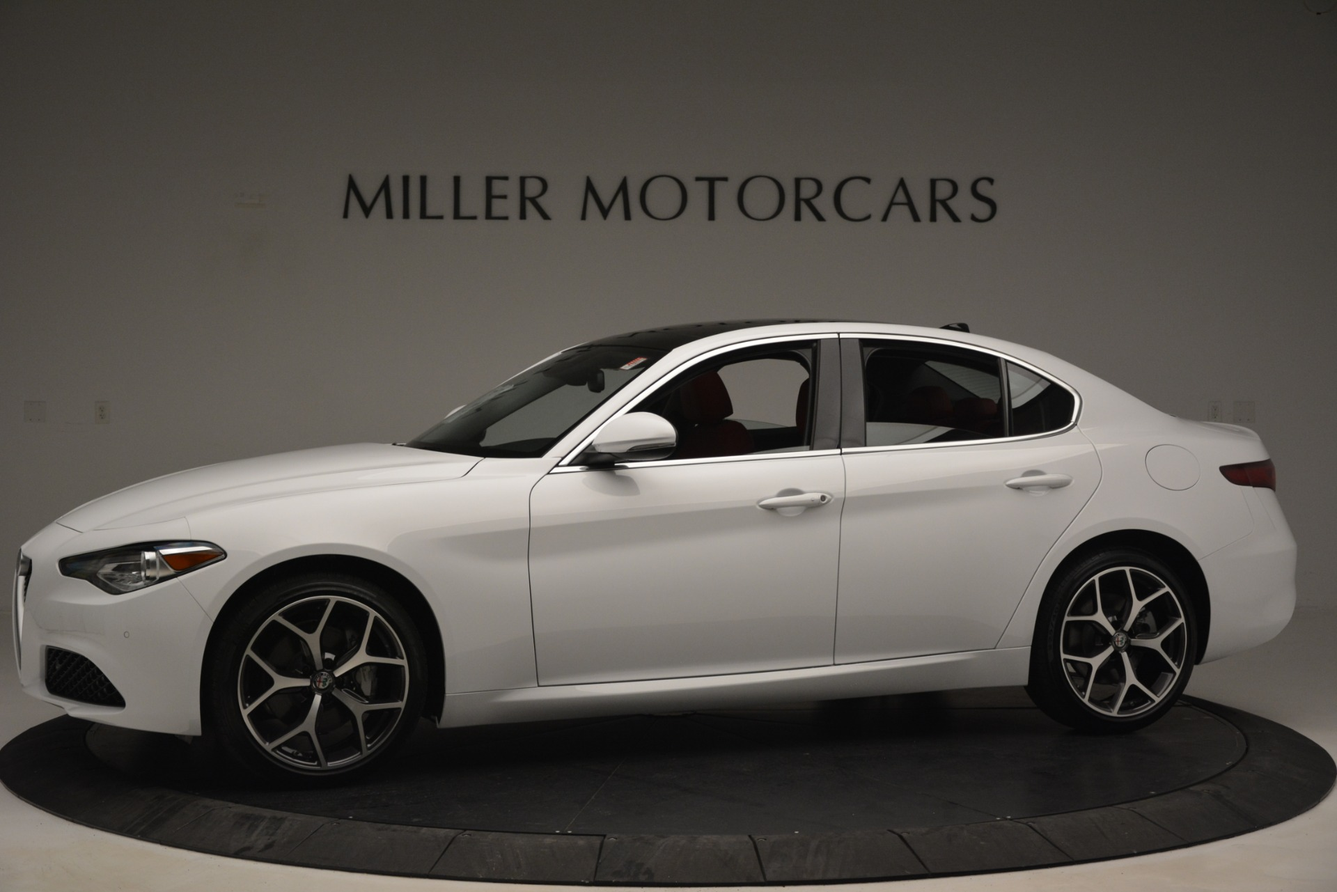 New 2019 Alfa Romeo Giulia Ti Q4 For Sale In Westport, CT 2667_p2