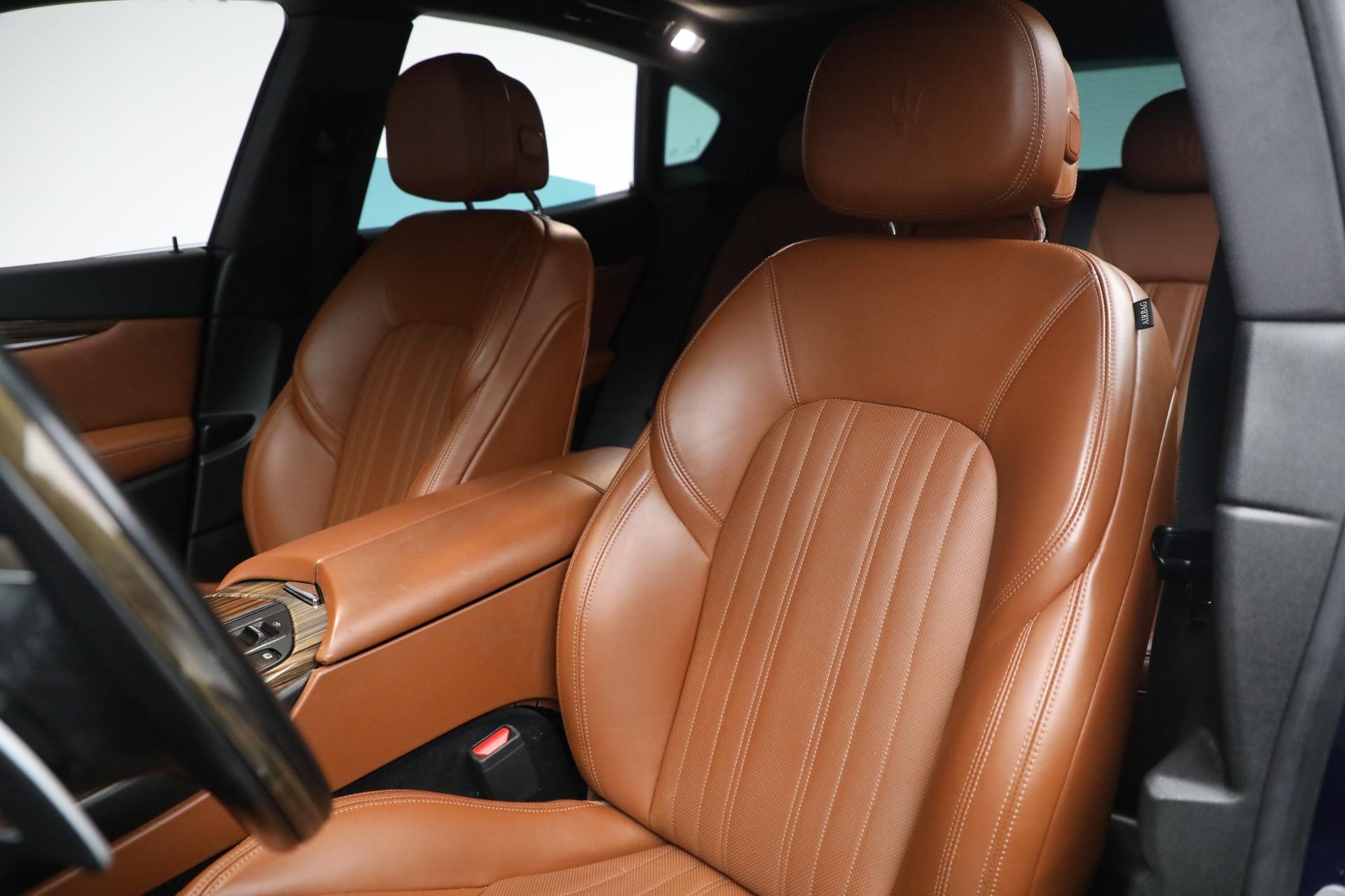 New 2019 Maserati Levante Q4 GranLusso For Sale In Westport, CT 2678_p15