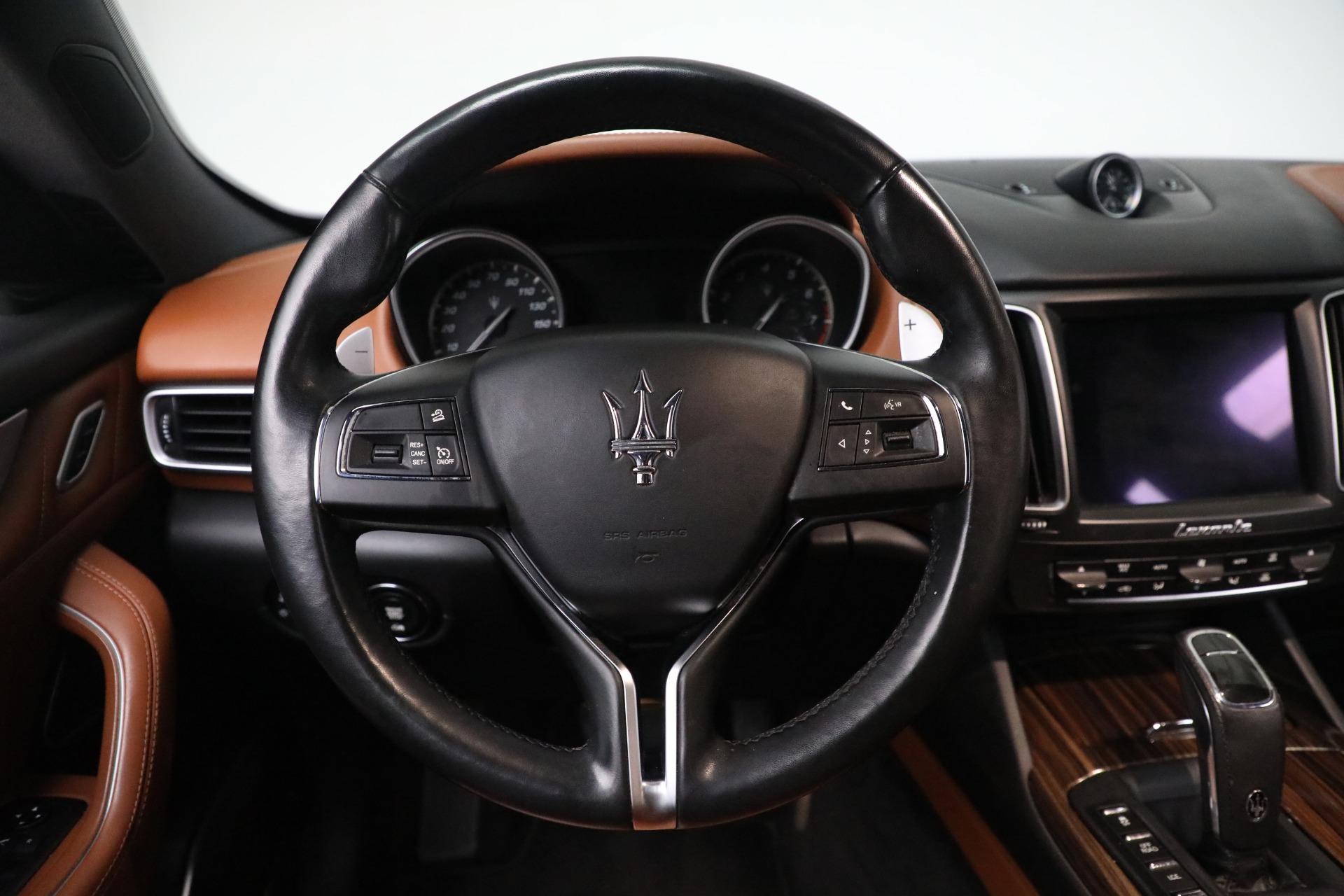 New 2019 Maserati Levante Q4 GranLusso For Sale In Westport, CT 2678_p16