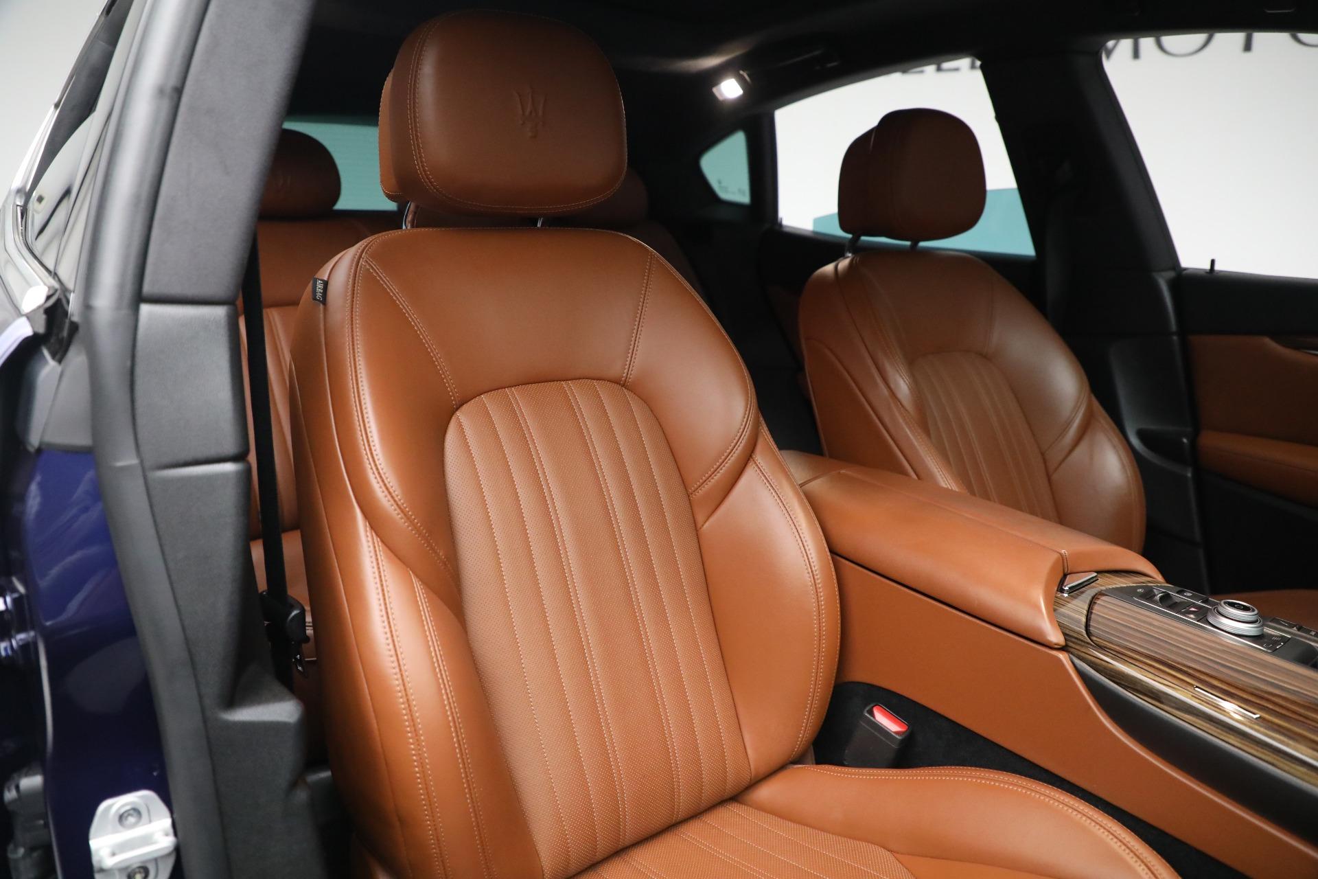 New 2019 Maserati Levante Q4 GranLusso For Sale In Westport, CT 2678_p21