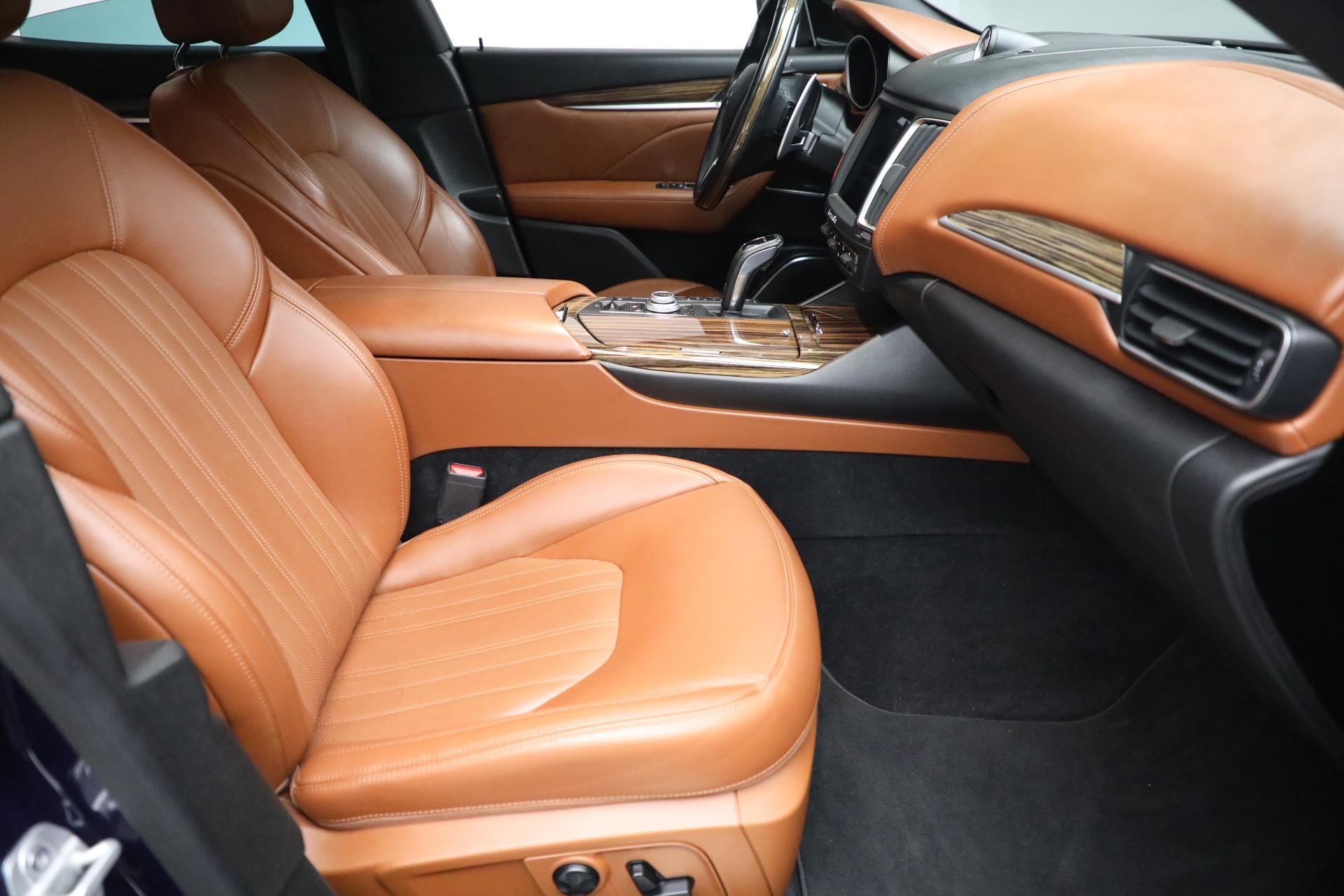 New 2019 Maserati Levante Q4 GranLusso For Sale In Westport, CT 2678_p22