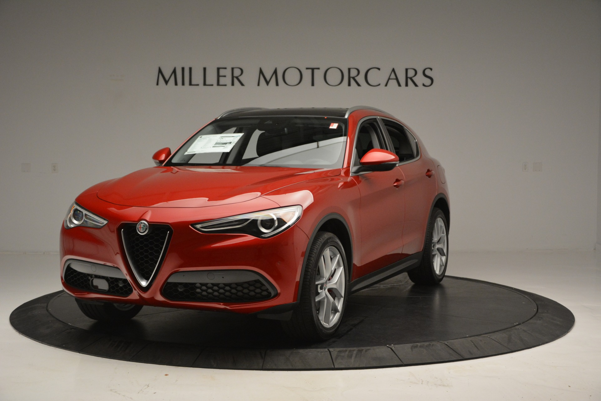 New 2018 Alfa Romeo Stelvio Ti Lusso Q4 For Sale In Westport, CT 2704_p2