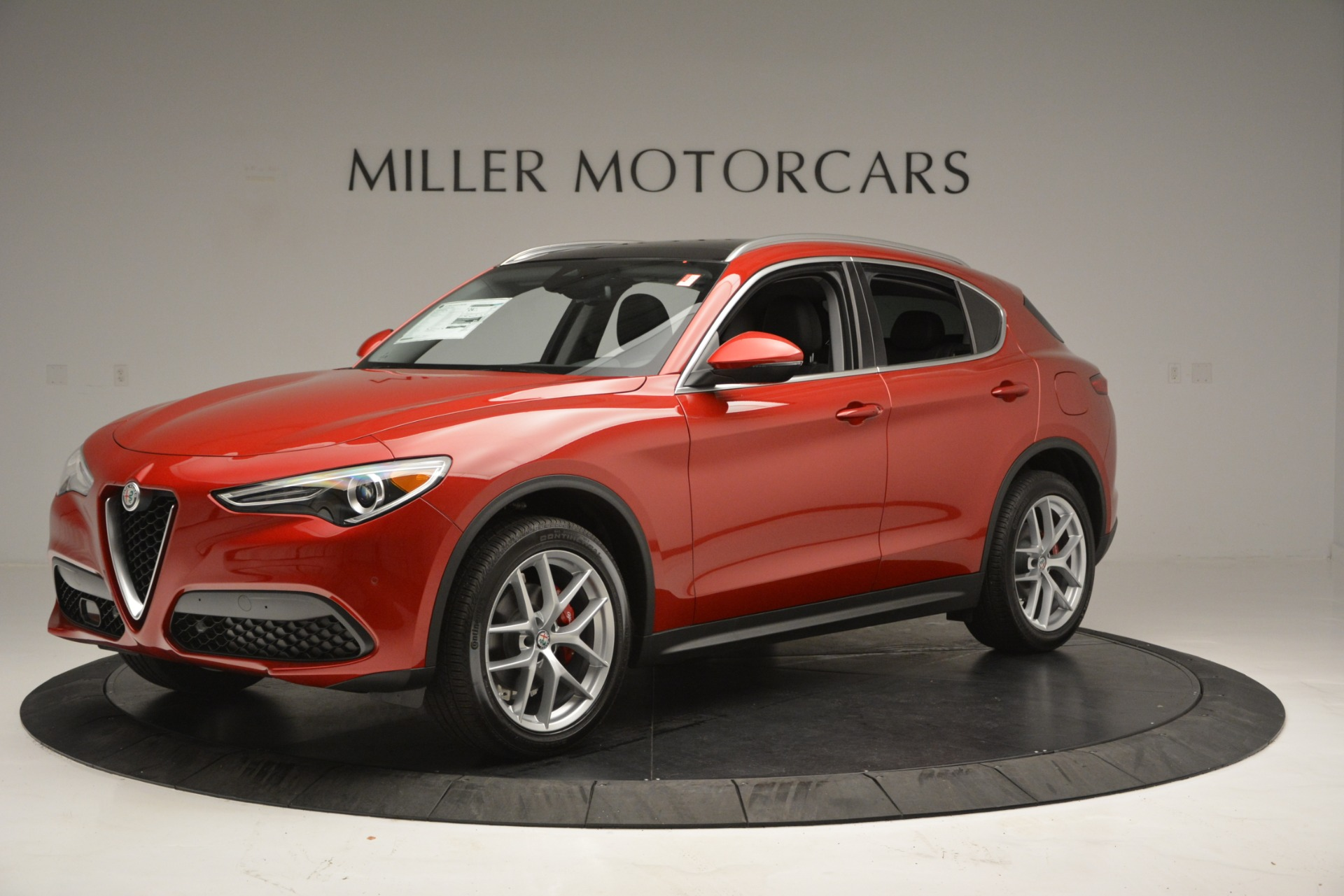 New 2018 Alfa Romeo Stelvio Ti Lusso Q4 For Sale In Westport, CT 2704_p3