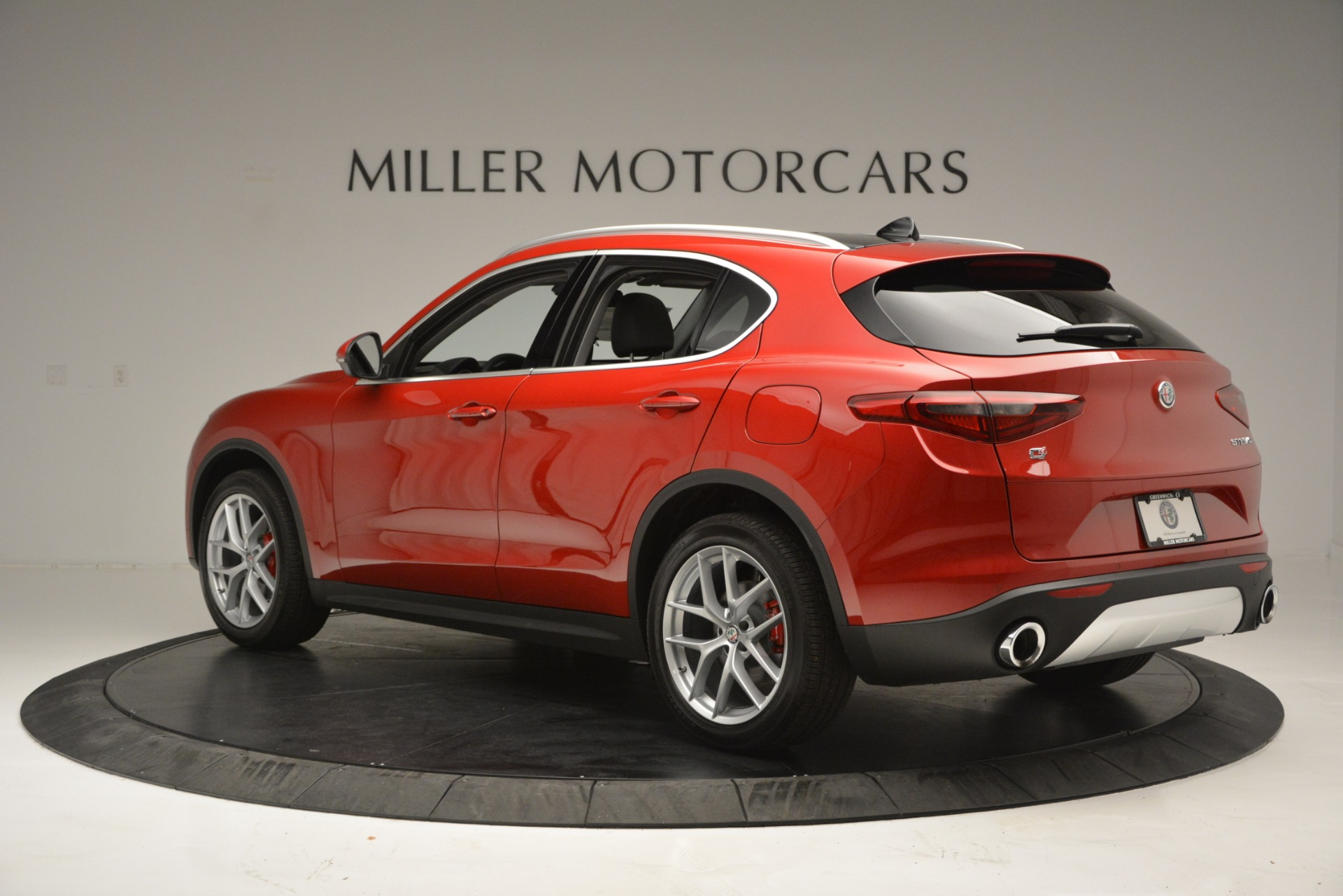 New 2018 Alfa Romeo Stelvio Ti Lusso Q4 For Sale In Westport, CT 2704_p5