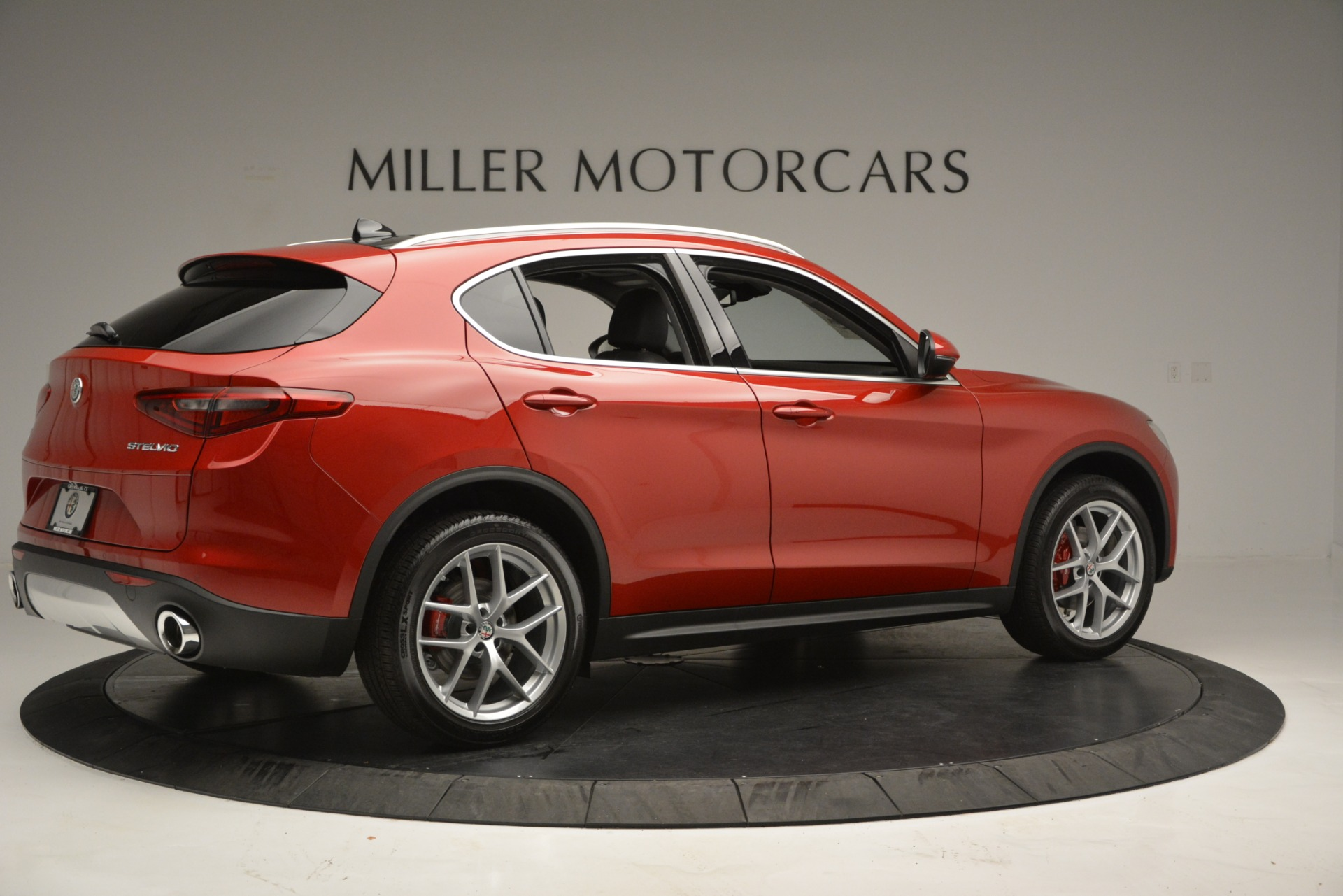 New 2018 Alfa Romeo Stelvio Ti Lusso Q4 For Sale In Westport, CT 2704_p8
