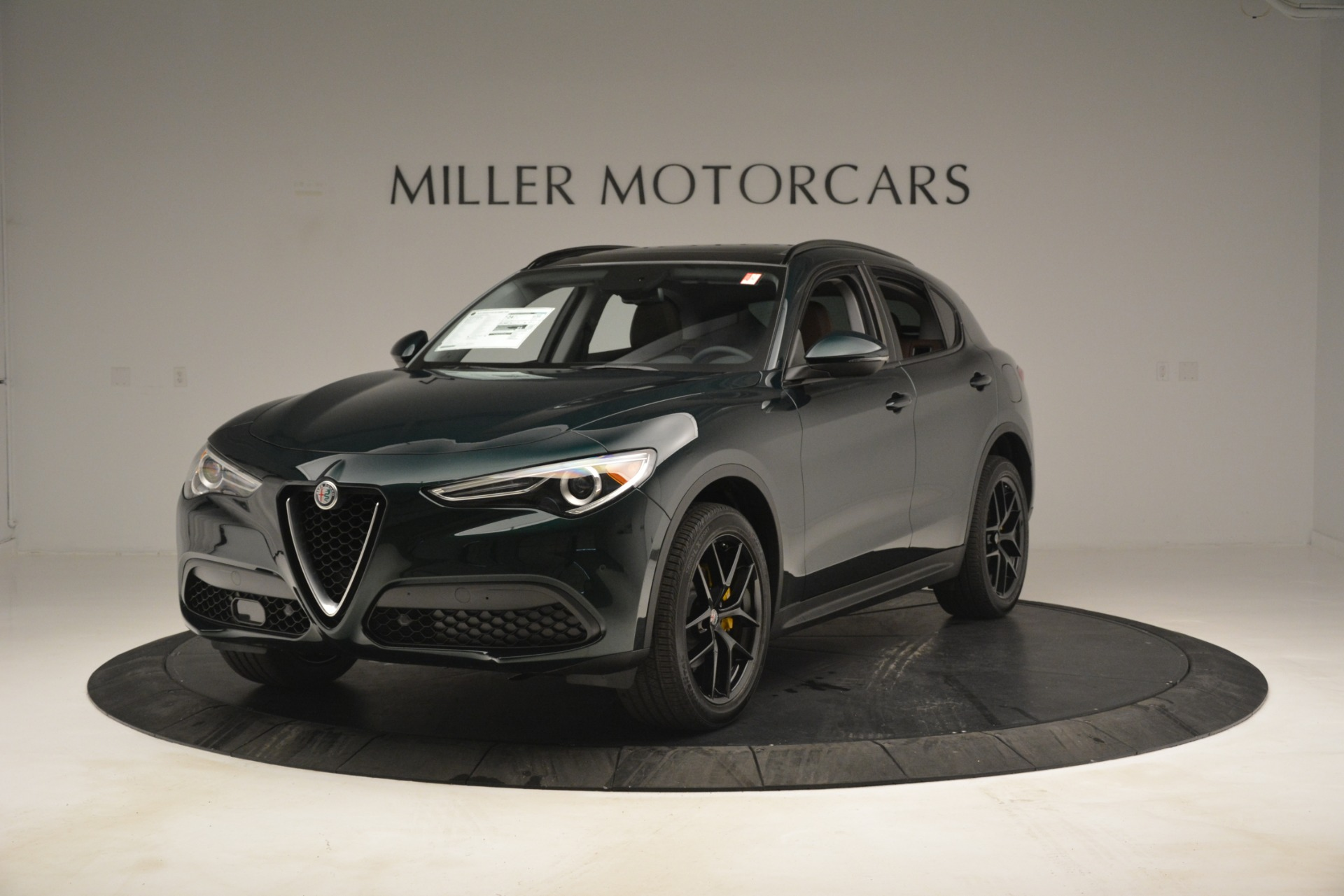 New 2019 Alfa Romeo Stelvio Sport Q4 For Sale In Westport, CT 2709_main