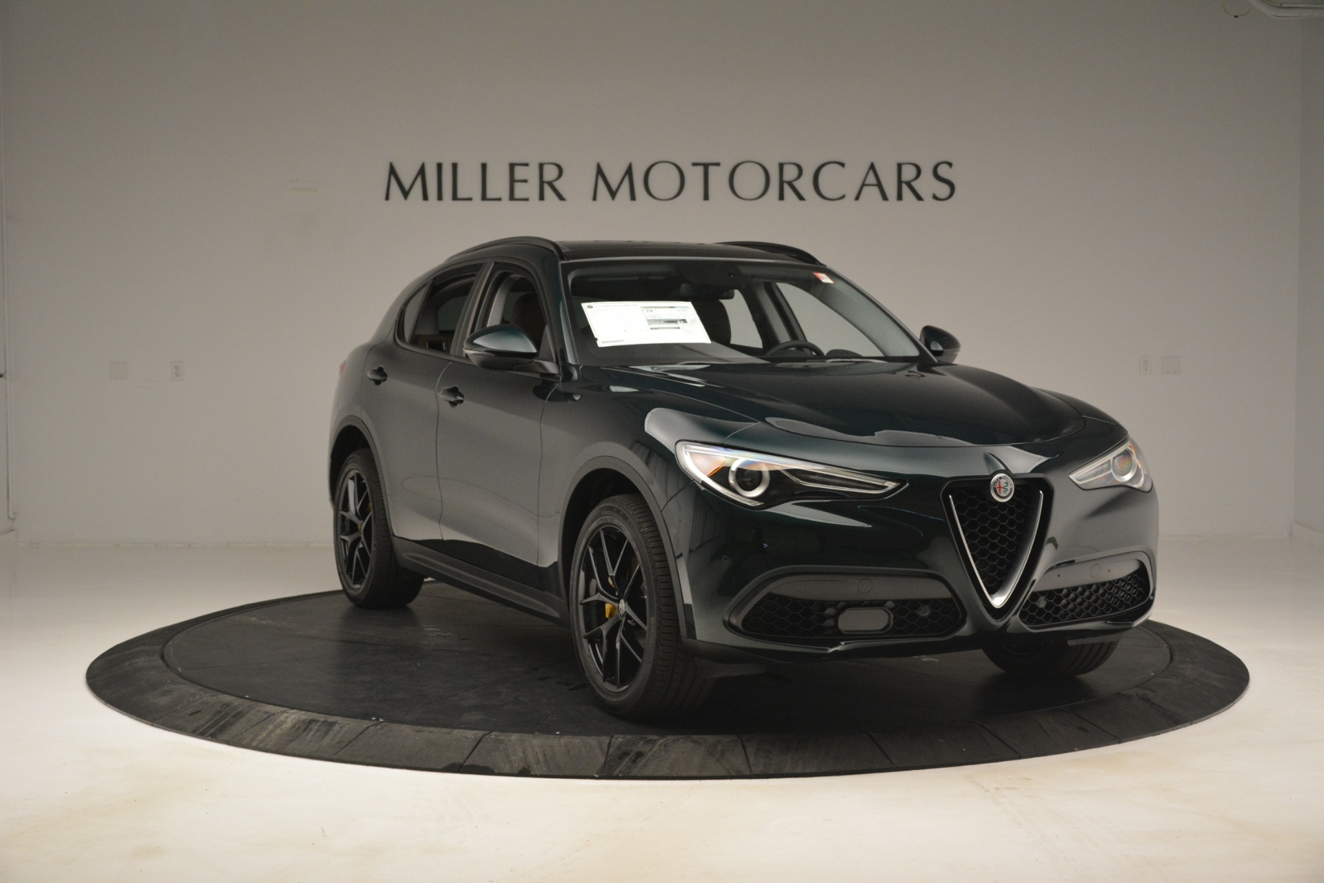 New 2019 Alfa Romeo Stelvio Sport Q4 For Sale In Westport, CT 2709_p11