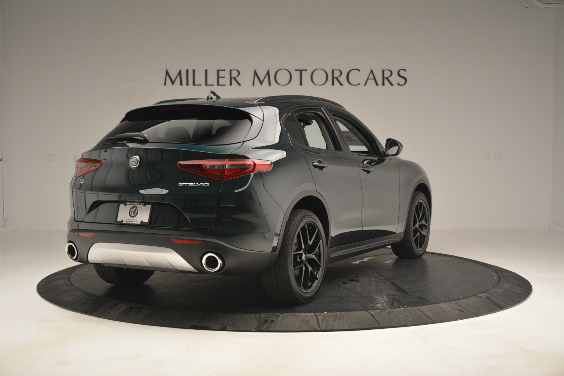 New 2019 Alfa Romeo Stelvio Sport Q4 For Sale In Westport, CT 2709_p7