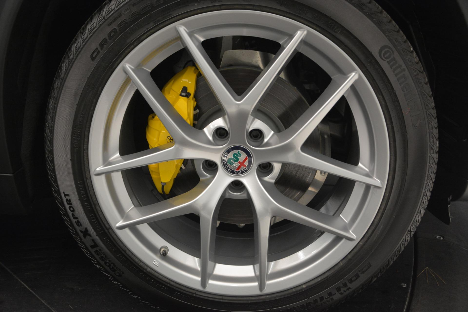 New 2019 Alfa Romeo Stelvio Ti Sport Q4 For Sale In Westport, CT 2714_p25