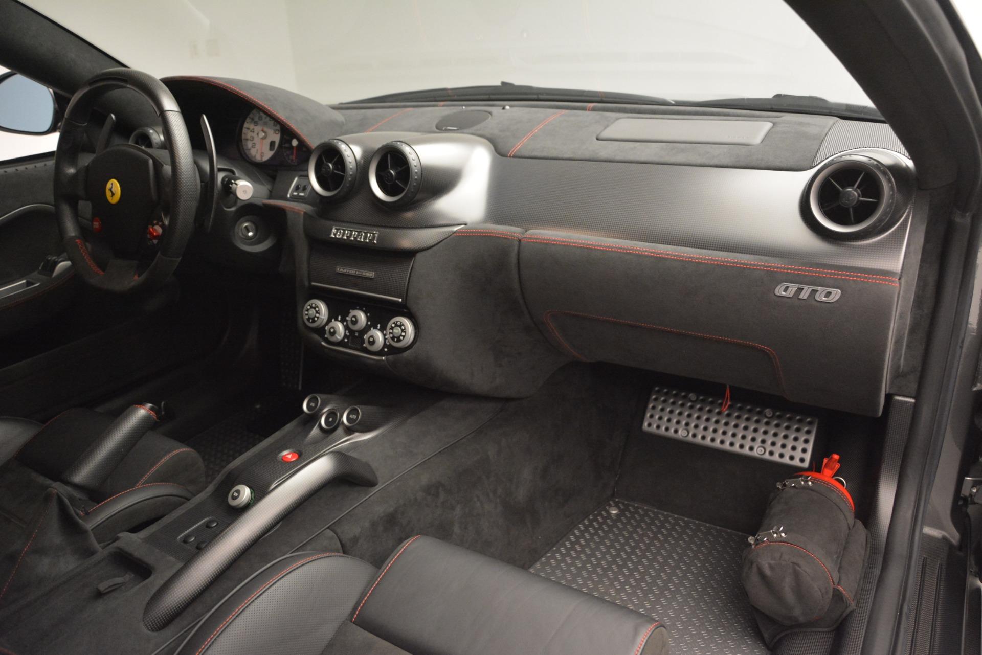 Used 2011 Ferrari 599 GTO  For Sale In Westport, CT 2724_p26