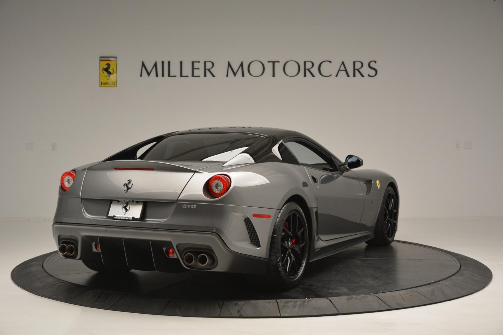 Used 2011 Ferrari 599 GTO  For Sale In Westport, CT 2724_p7