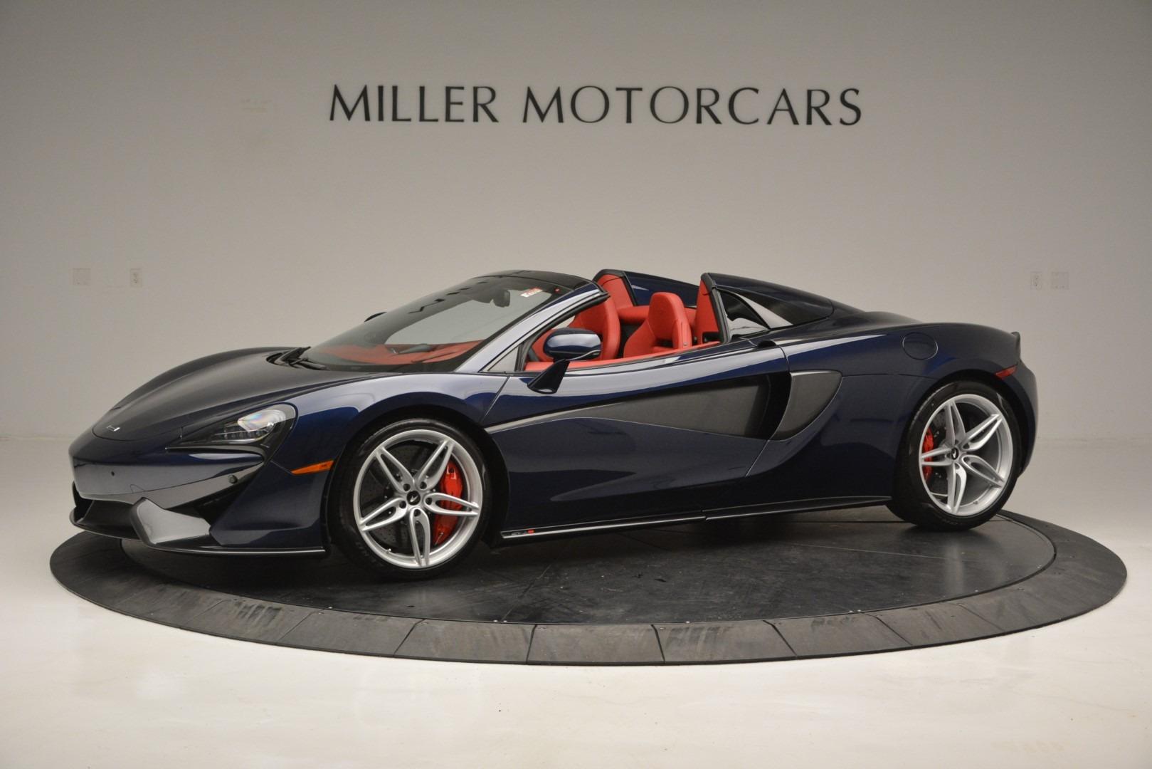 New 2019 McLaren 570S Spider Convertible For Sale In Westport, CT 2727_main