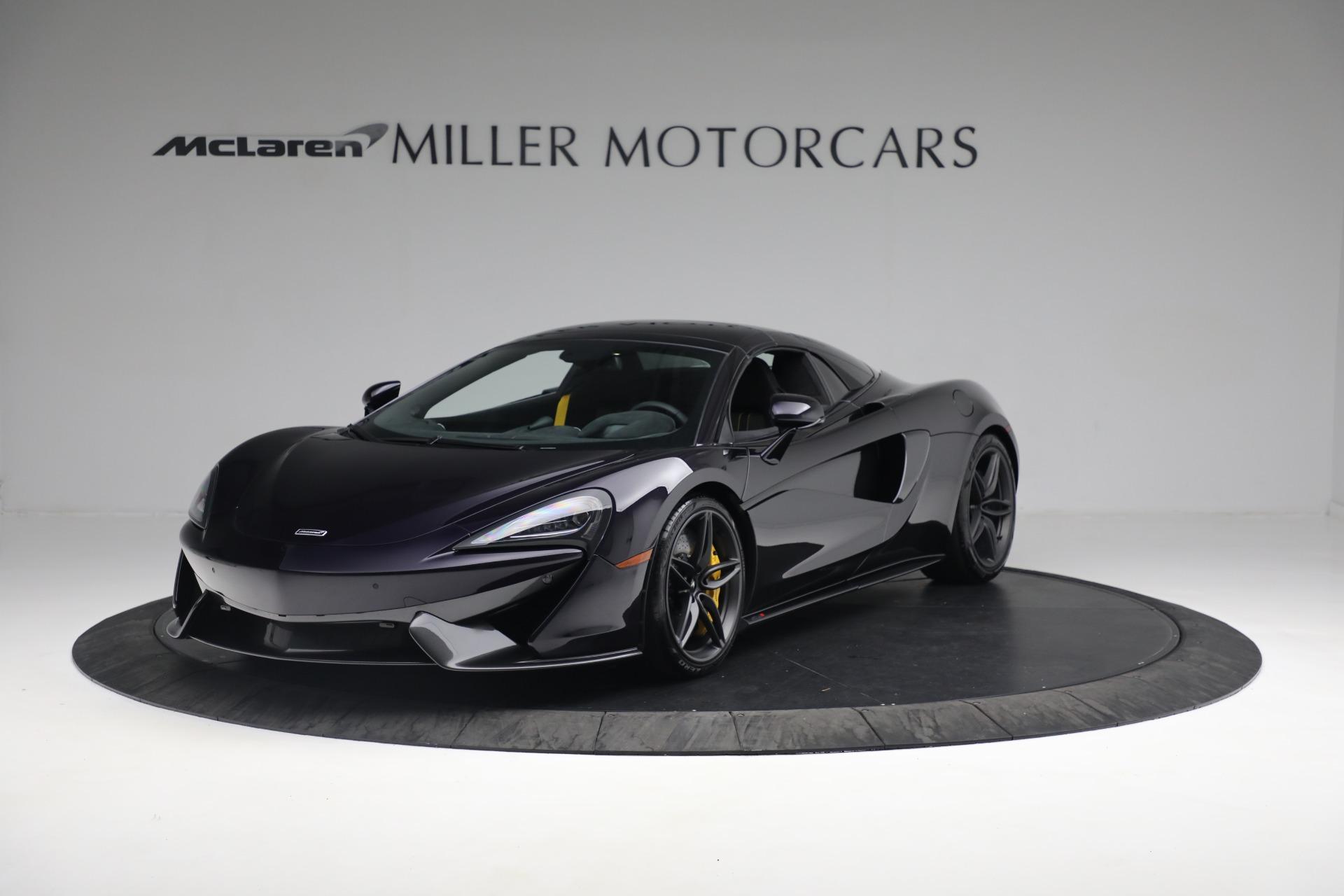New 2019 McLaren 570S Spider Convertible For Sale In Westport, CT 2729_p12