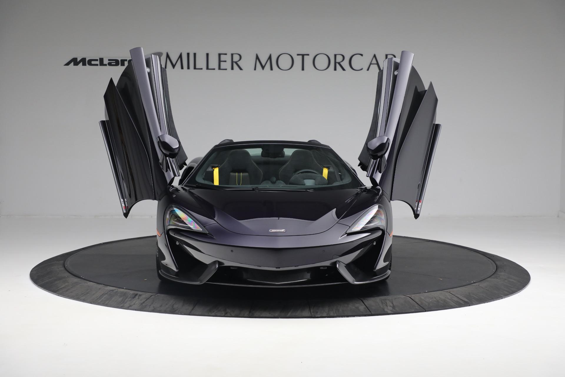 New 2019 McLaren 570S Spider Convertible For Sale In Westport, CT 2729_p23