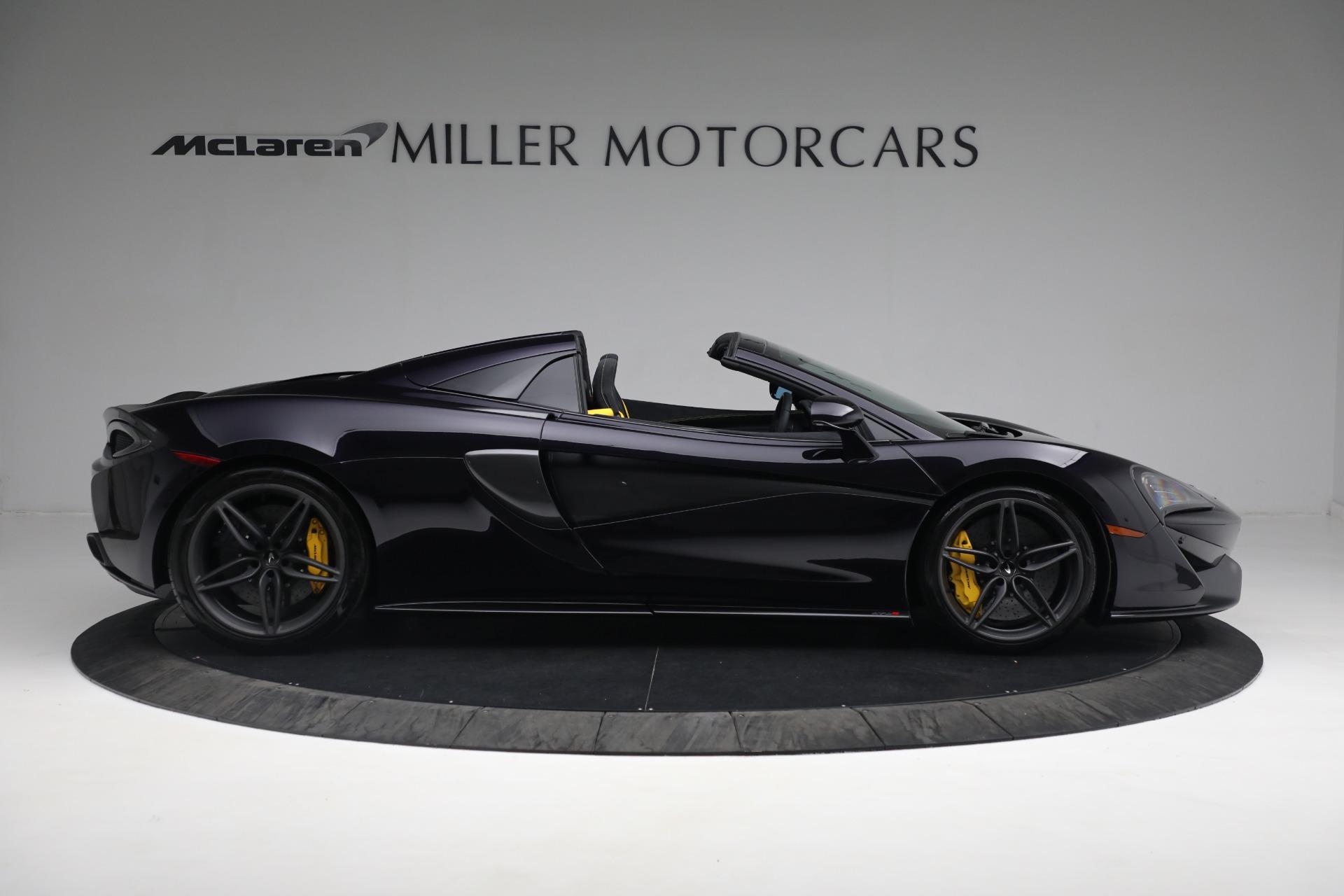 New 2019 McLaren 570S Spider Convertible For Sale In Westport, CT 2729_p9