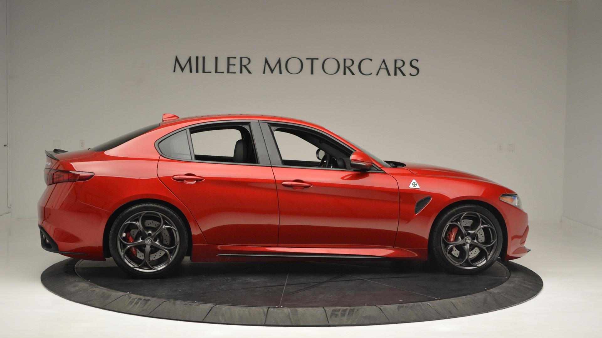 Used 2017 Alfa Romeo Giulia Quadrifoglio  For Sale In Westport, CT 2733_p9