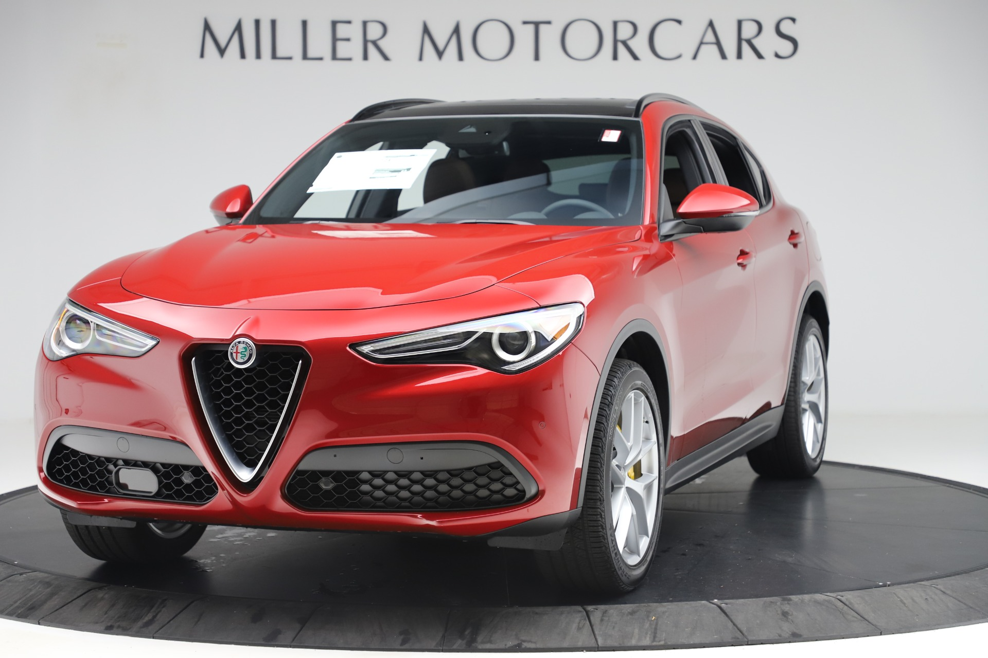 New 2019 Alfa Romeo Stelvio Ti Sport Q4 For Sale In Westport, CT 2744_main